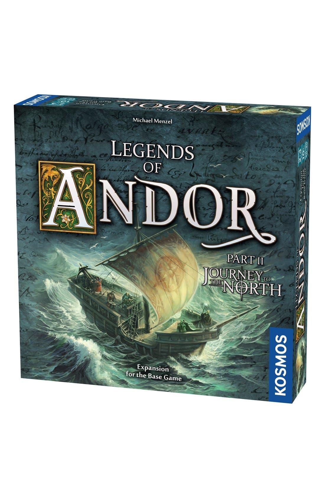 'Legends of Andor - Journey' Game Expansion Pack,                             Main thumbnail 1, color,                             Orange