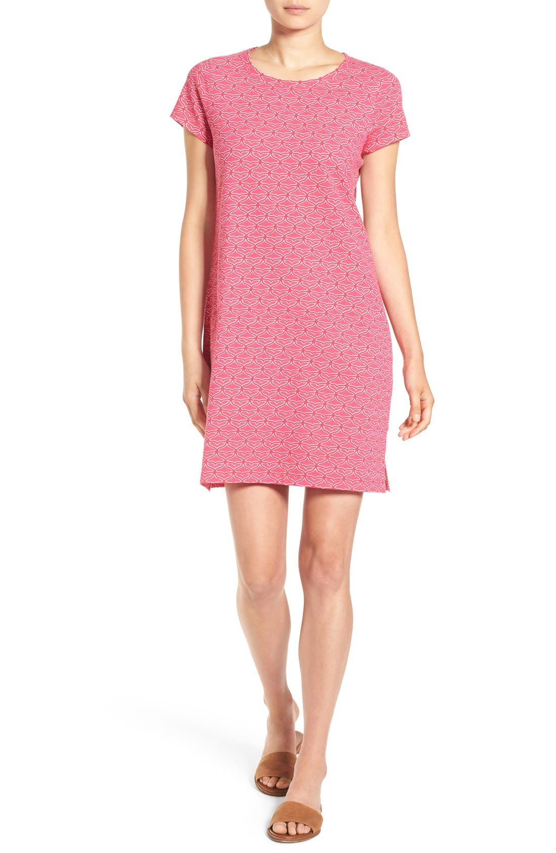 Alternate Image 1 Selected - Vineyard Vines 'Whale Tail' Graphic Shirtdress