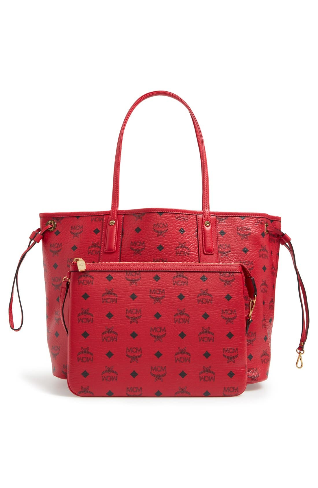 Alternate Image 3  - MCM Medium Liz Reversible Shopper