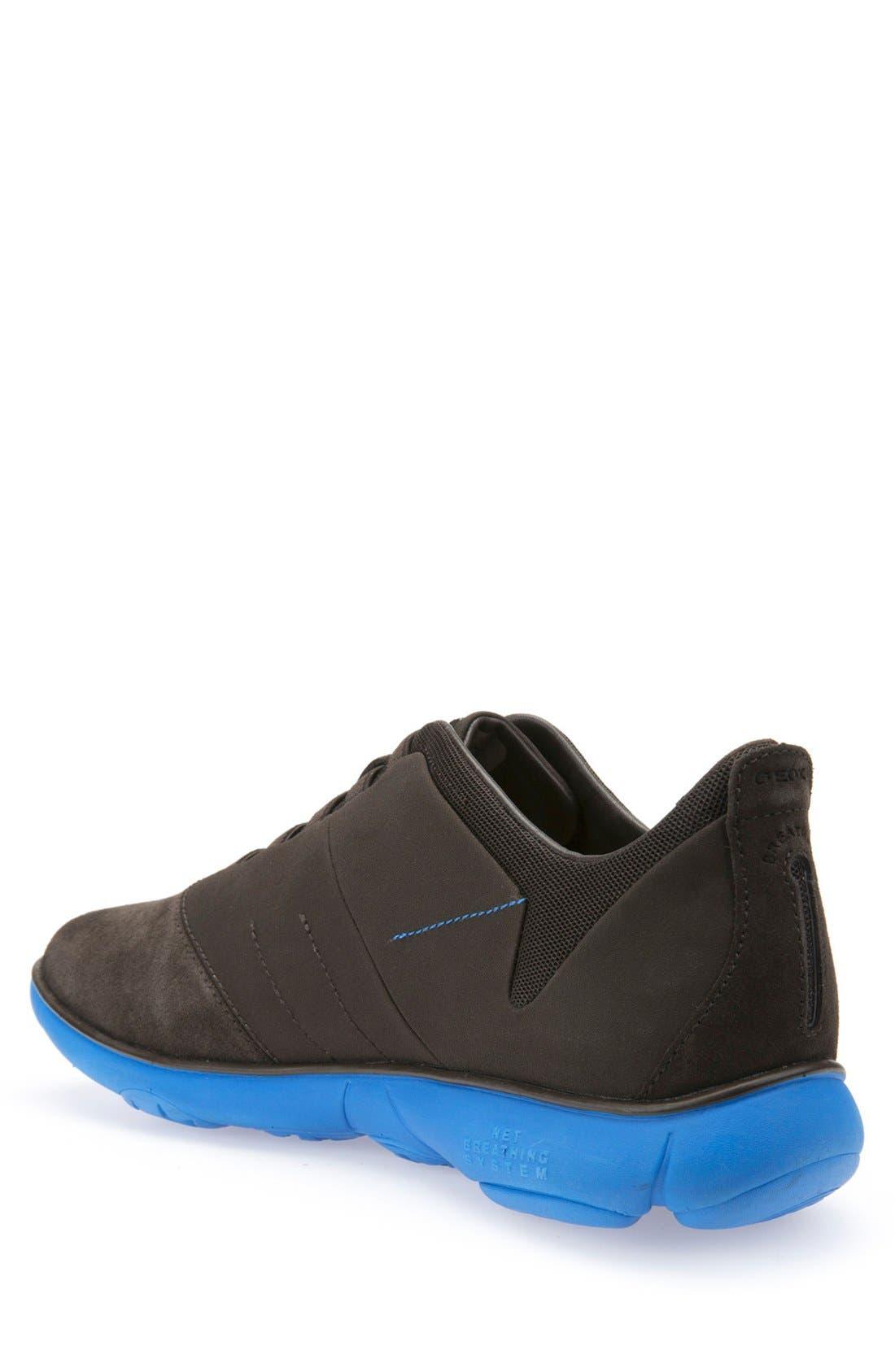 Alternate Image 2  - Geox 'Nebula 24' Slip-On Sneaker (Men)