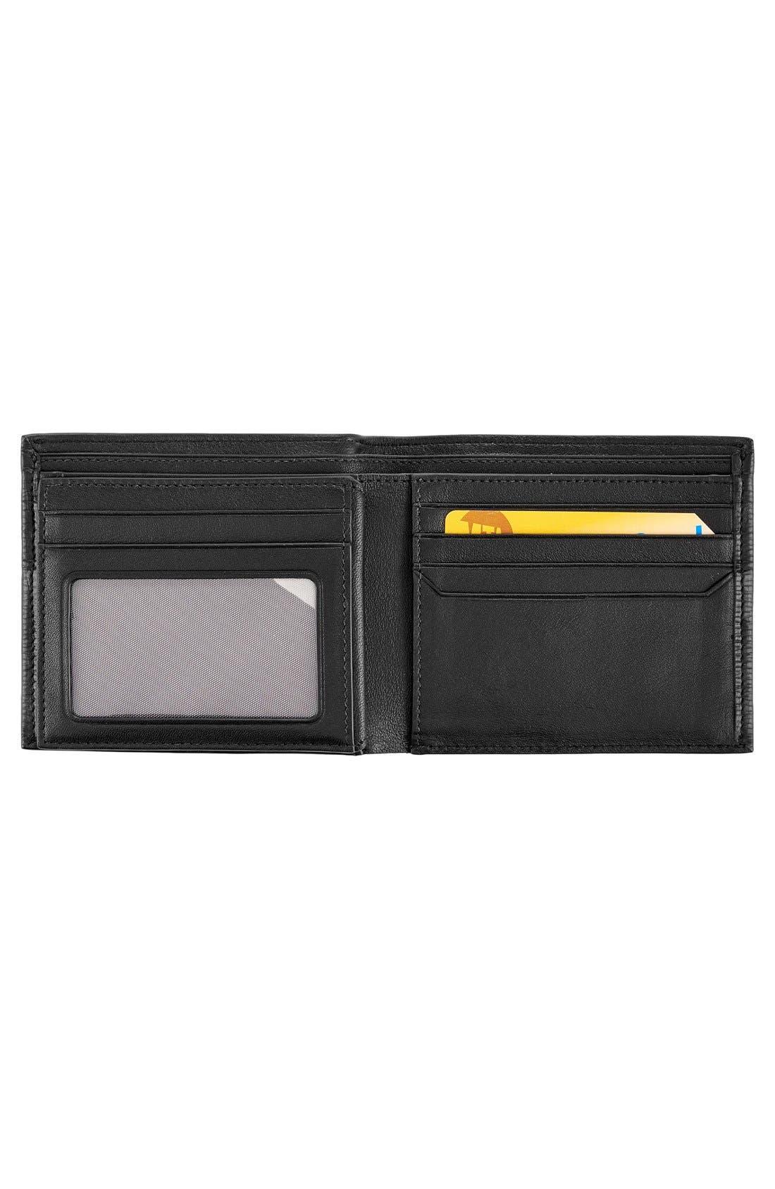 Monaco Global Billfold Wallet,                             Alternate thumbnail 2, color,                             Black