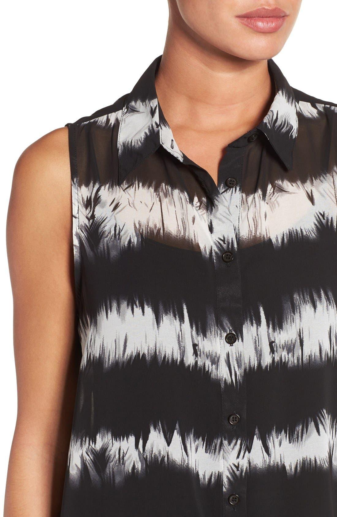 Alternate Image 4  - Press Tie Dye Sleeveless Tunic Shirt