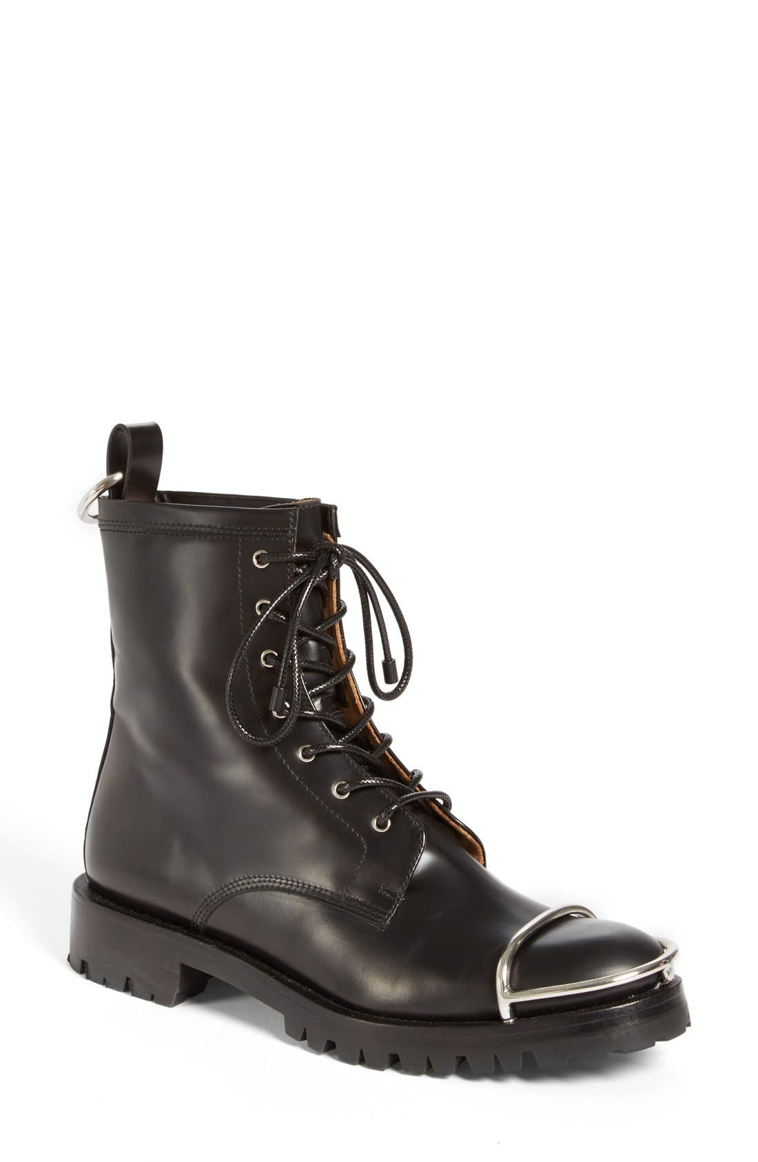 Alternate Image 1 Selected - Alexander Wang 'Lyndon' Military Boot (Women)