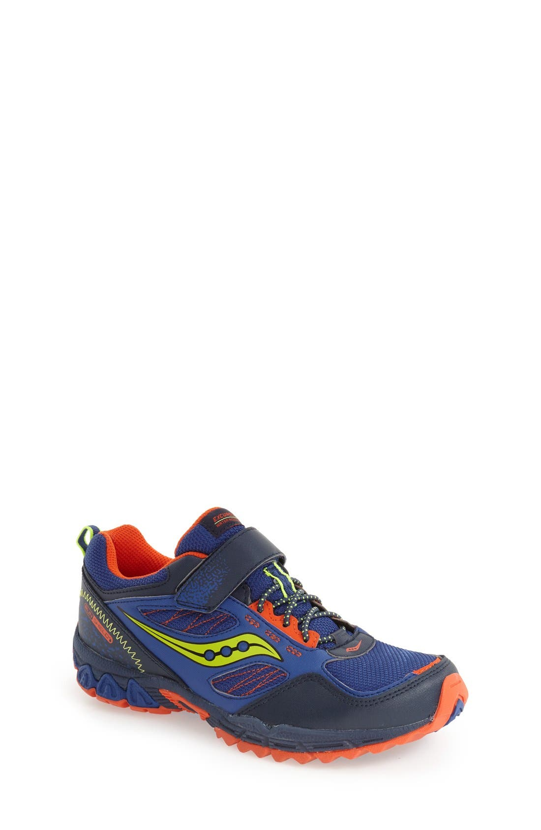 Main Image - Saucony 'Excursion Shield' Water Resistant Trail Shoe (Toddler, Little Kid & Big Kid)