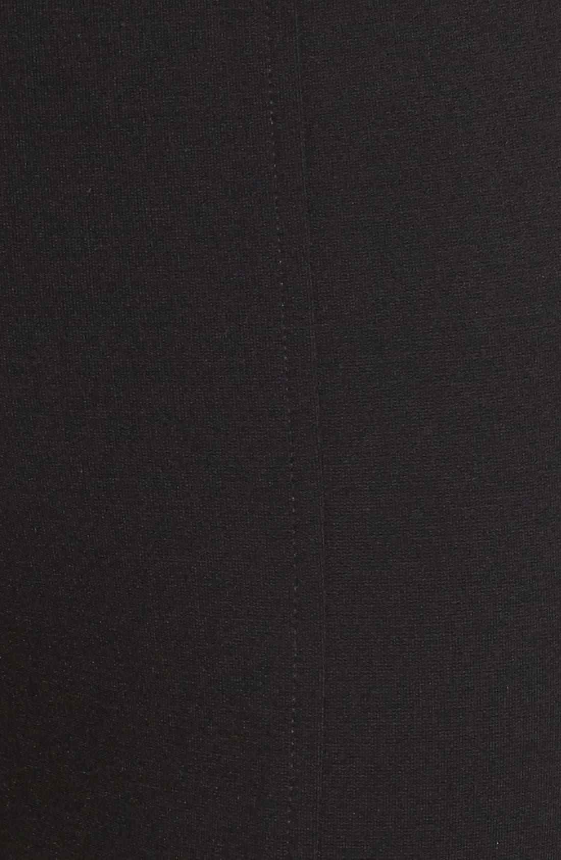 Betty Stretch Ankle Pants,                             Alternate thumbnail 5, color,                             Black