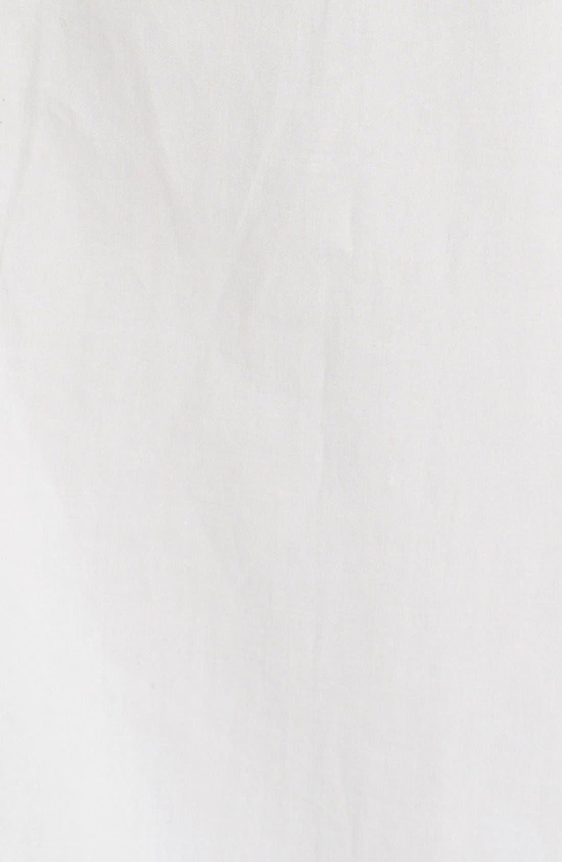 Alternate Image 5  - La Vie Rebecca Taylor Ruffle Cotton Poplin Blouse