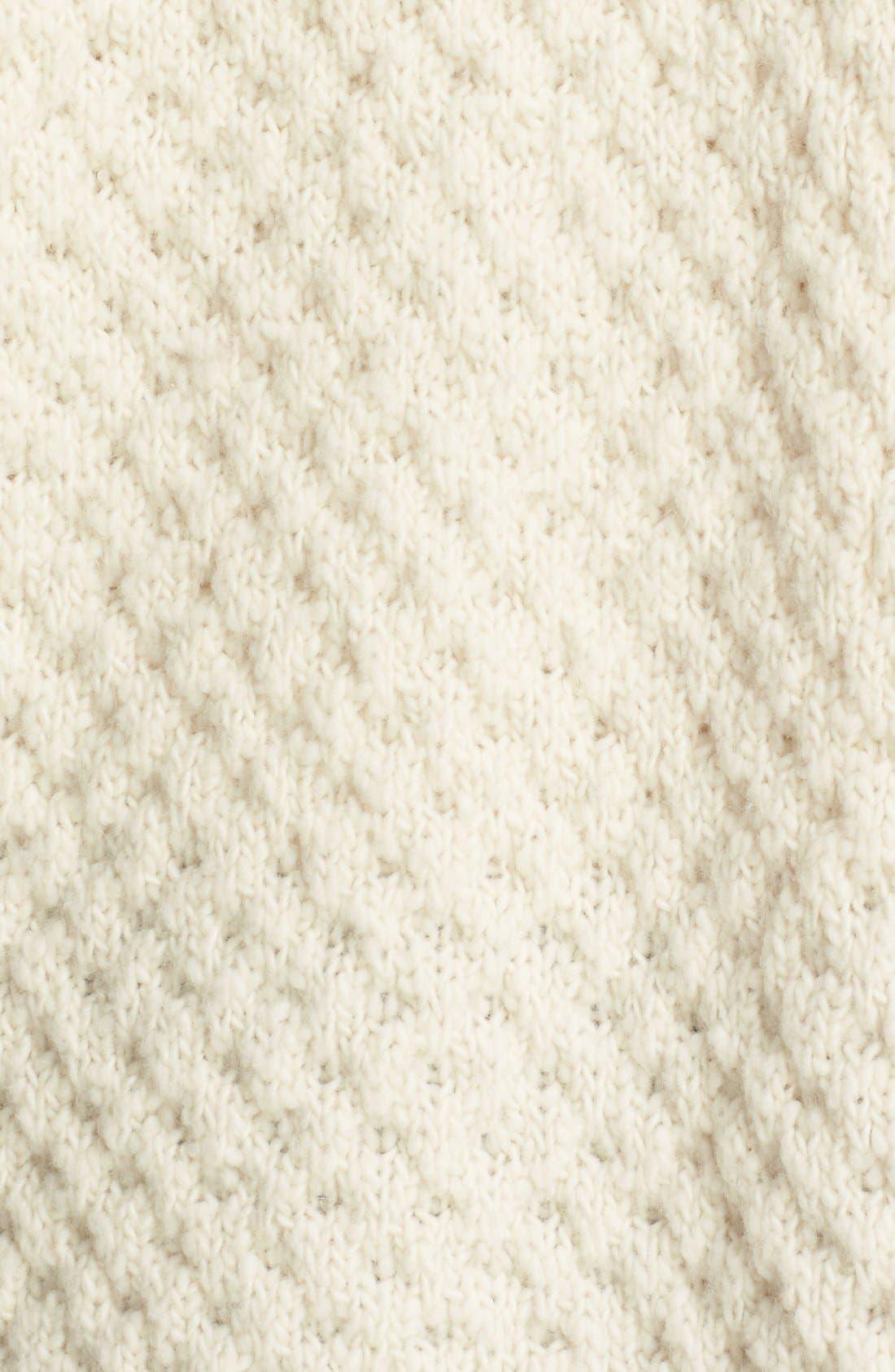 Alternate Image 5  - Vince Honeycomb Wool Blend Long Cardigan