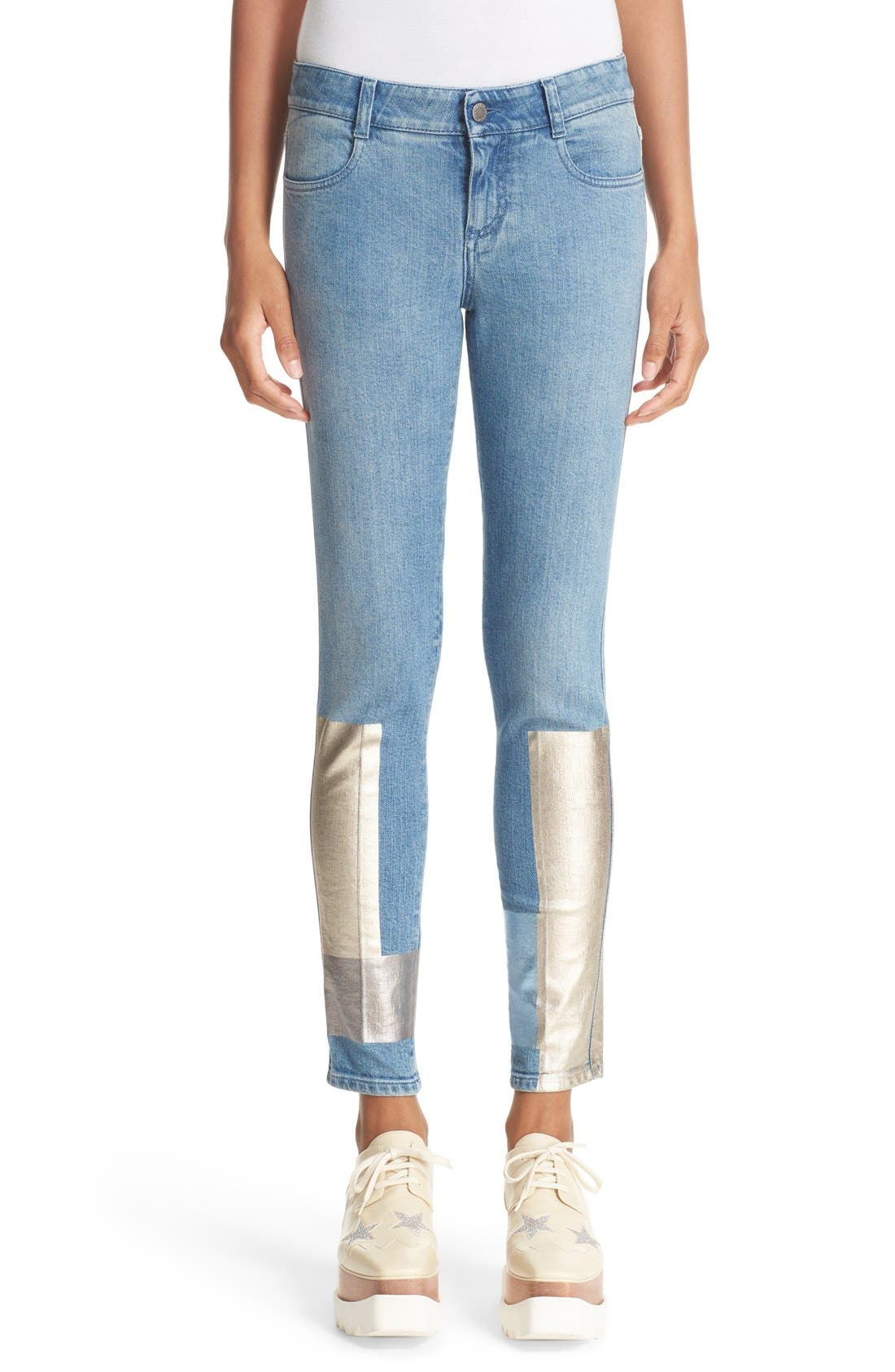 Alternate Image 1 Selected - Stella McCartney Ankle Grazer Skinny Jeans