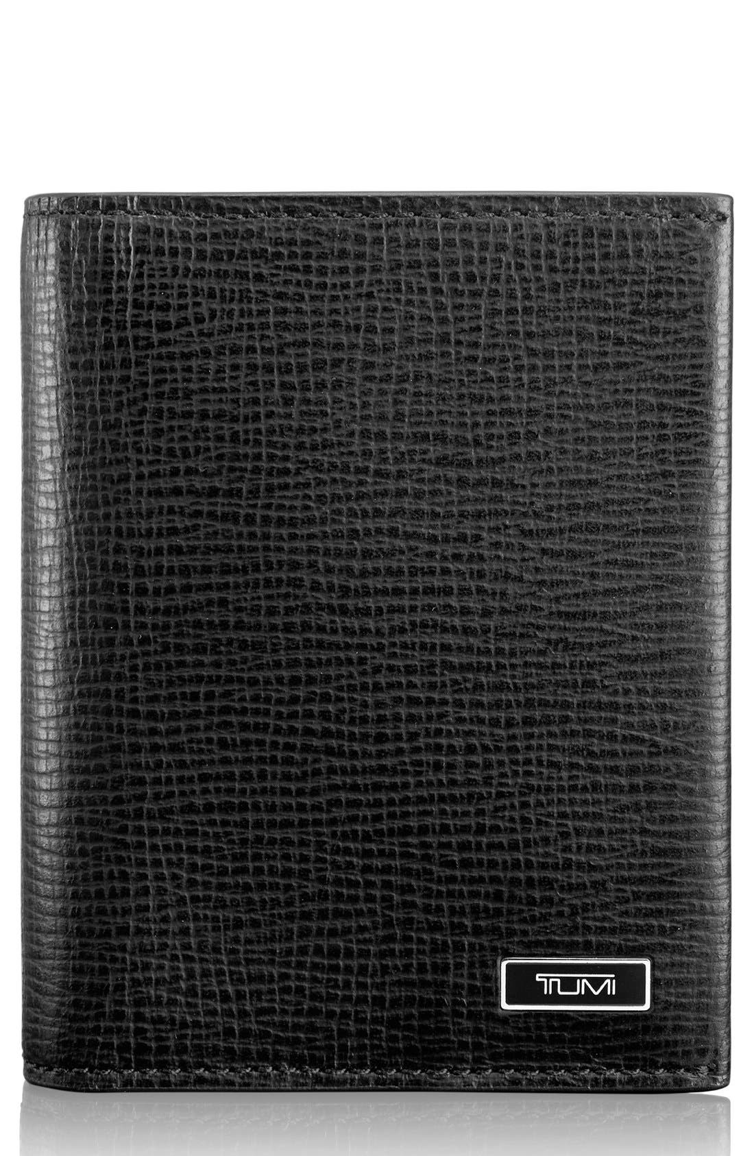 Alternate Image 1 Selected - Tumi 'Monaco' Leather Card Case