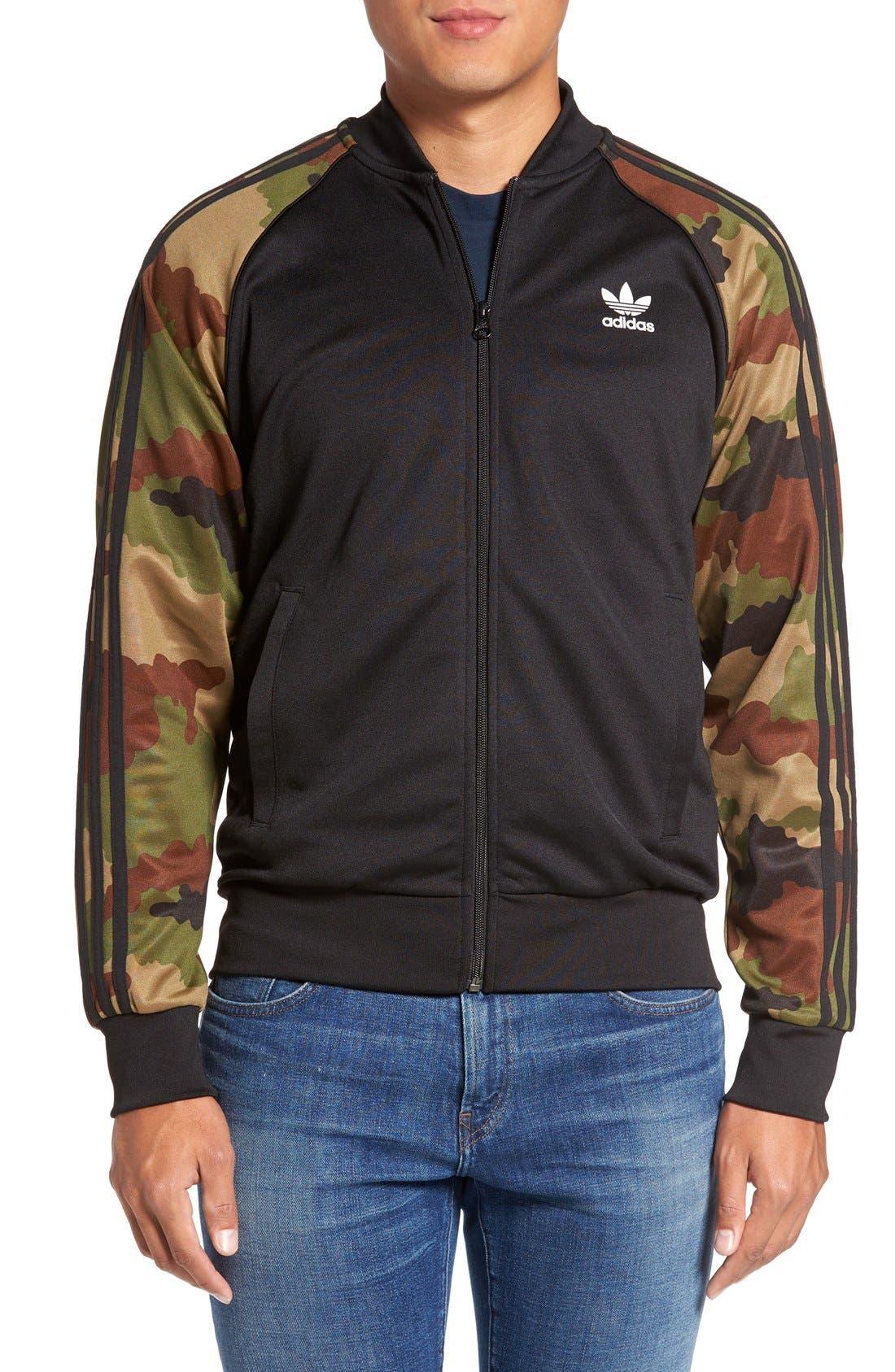 Buy cheap adidas originals camo bomber jacket >Up to OFF43