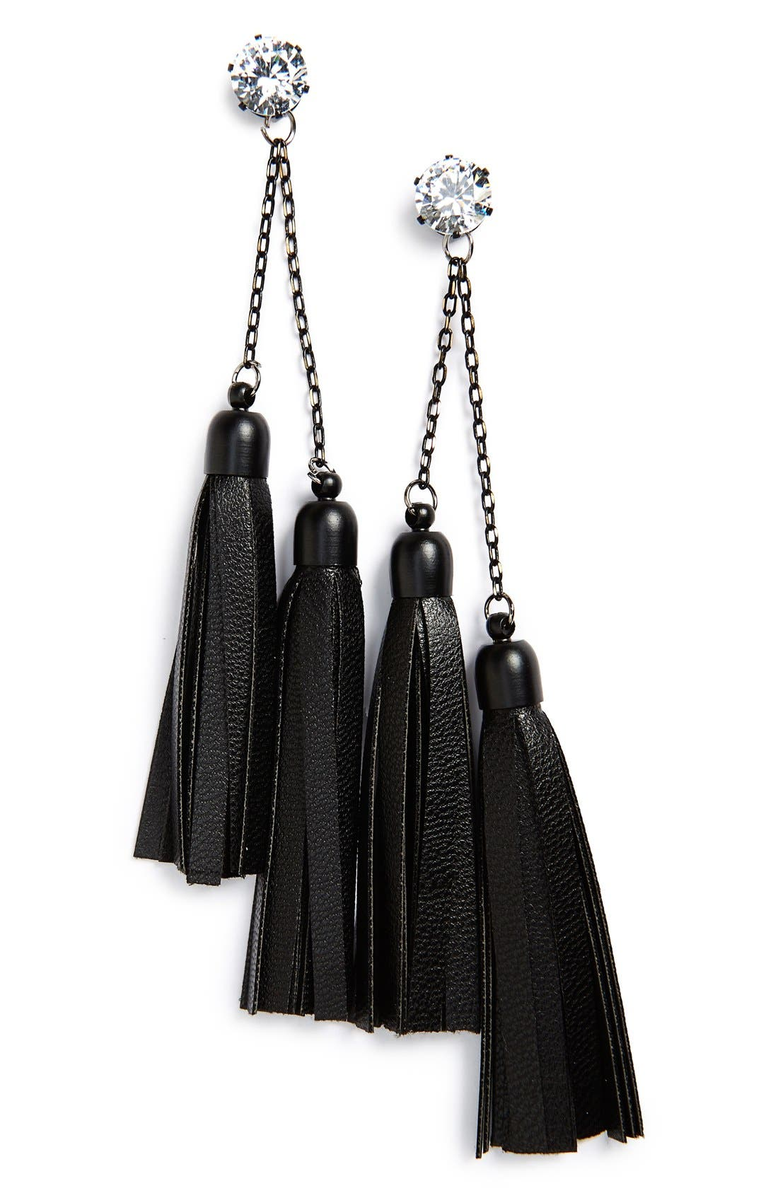 Main Image - Sole Society Tassel Earrings