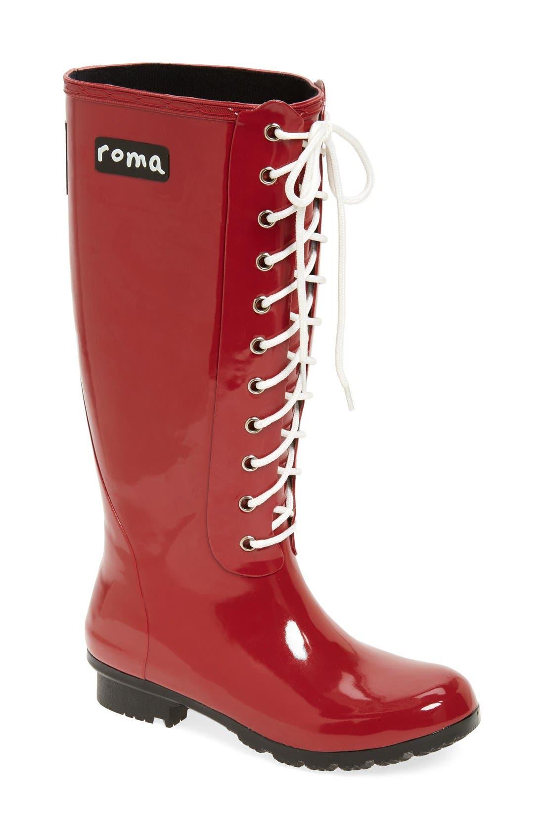 roma 'Opinca' Waterproof Rain Boot (Women)