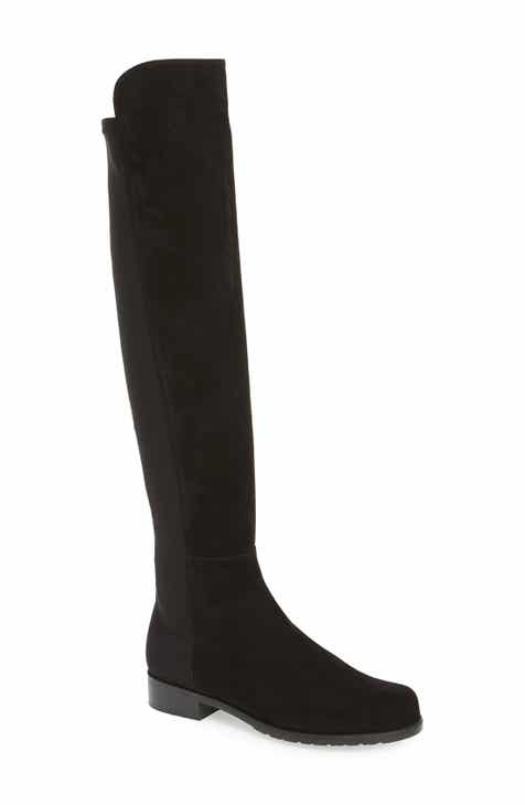 Stuart Weitzman 5050 Over the Knee Leather Boot (Women) 5d01fa3e52
