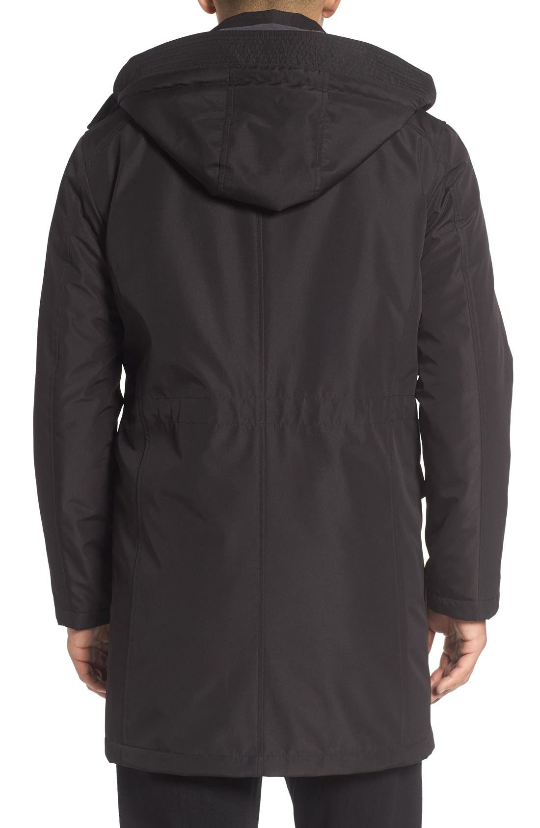 Alternate Image 2  - Cole Haan Insulated Water Resistant Car Coat