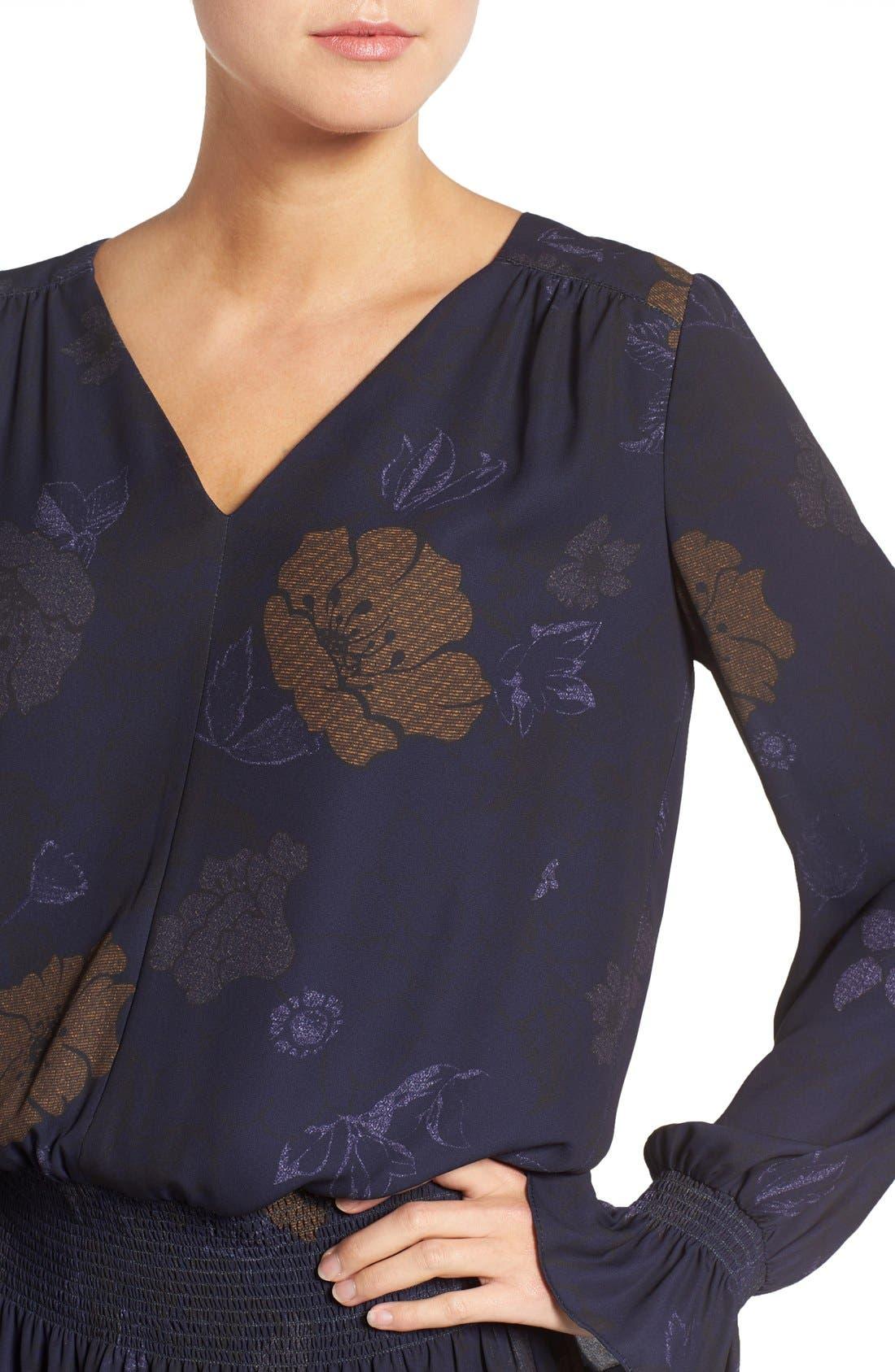 Alternate Image 4  - Chelsea28 Drop Waist Dress