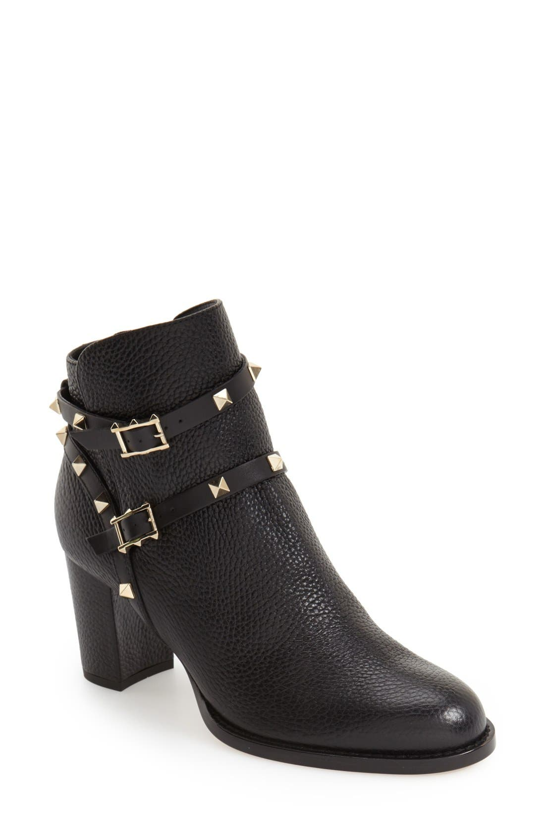 Alternate Image 1 Selected - VALENTINO GARAVANI 'Rockstud' Bootie (Women)