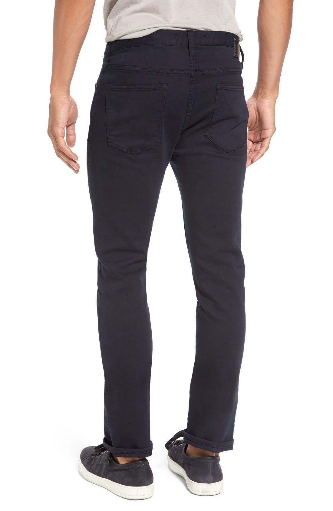 'Bowery' Slim Fit Pants,                             Alternate thumbnail 2, color,                             Eclipse