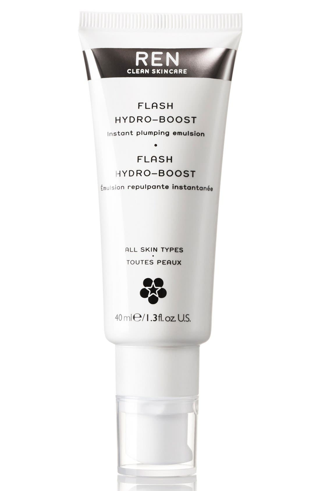 SPACE.NK.apothecary REN Flash Hydro-Boost Instant Plumping Emulsion