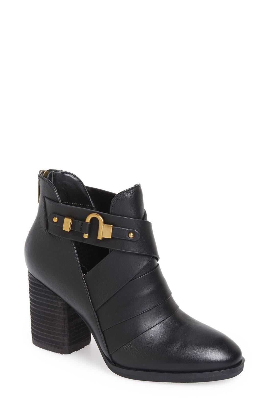 Alternate Image 1 Selected - Isolà 'Ladora' Block Heel Bootie (Women)