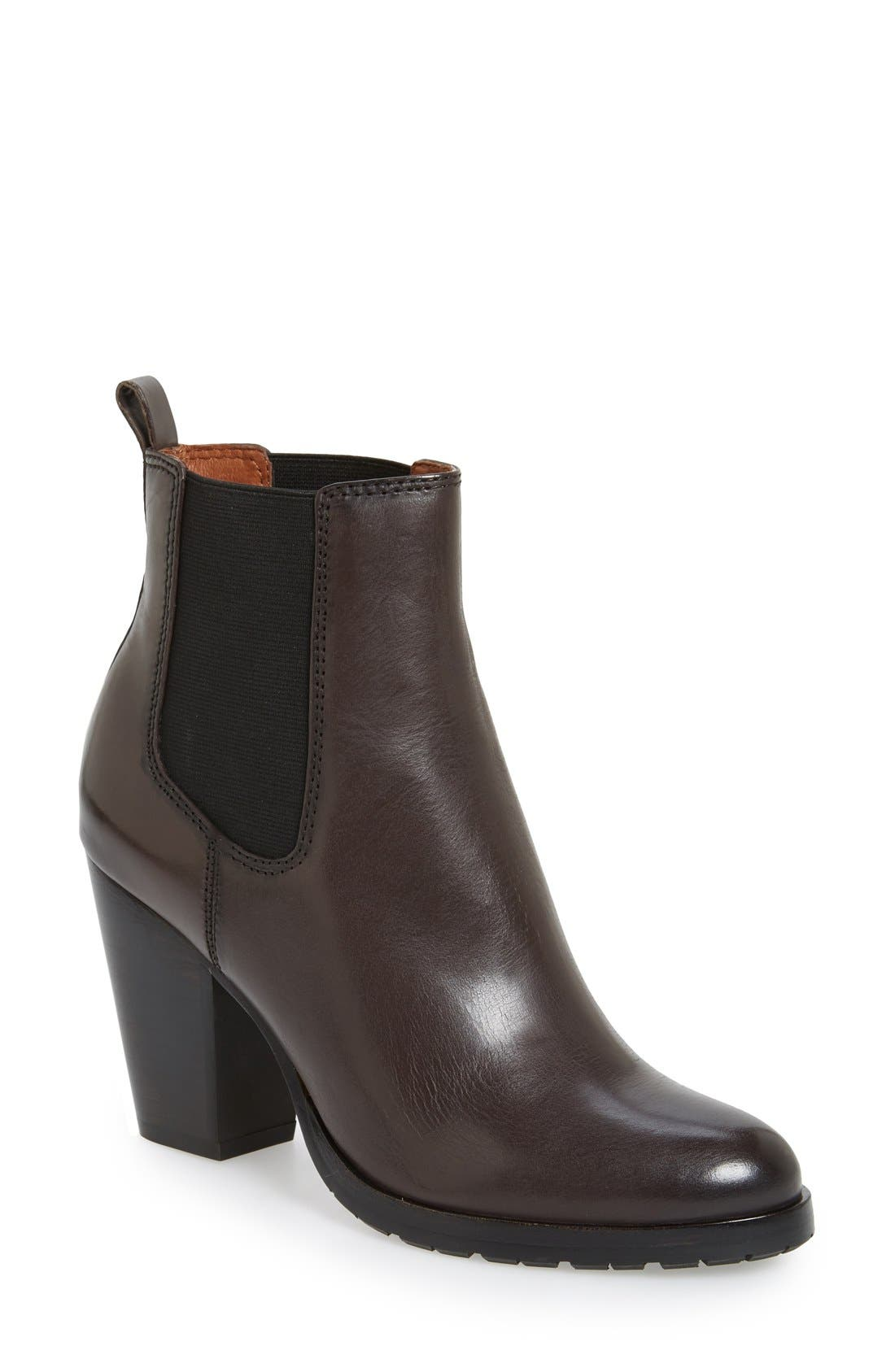 'Tate' Chelsea Boot,                         Main,                         color, Charcoal