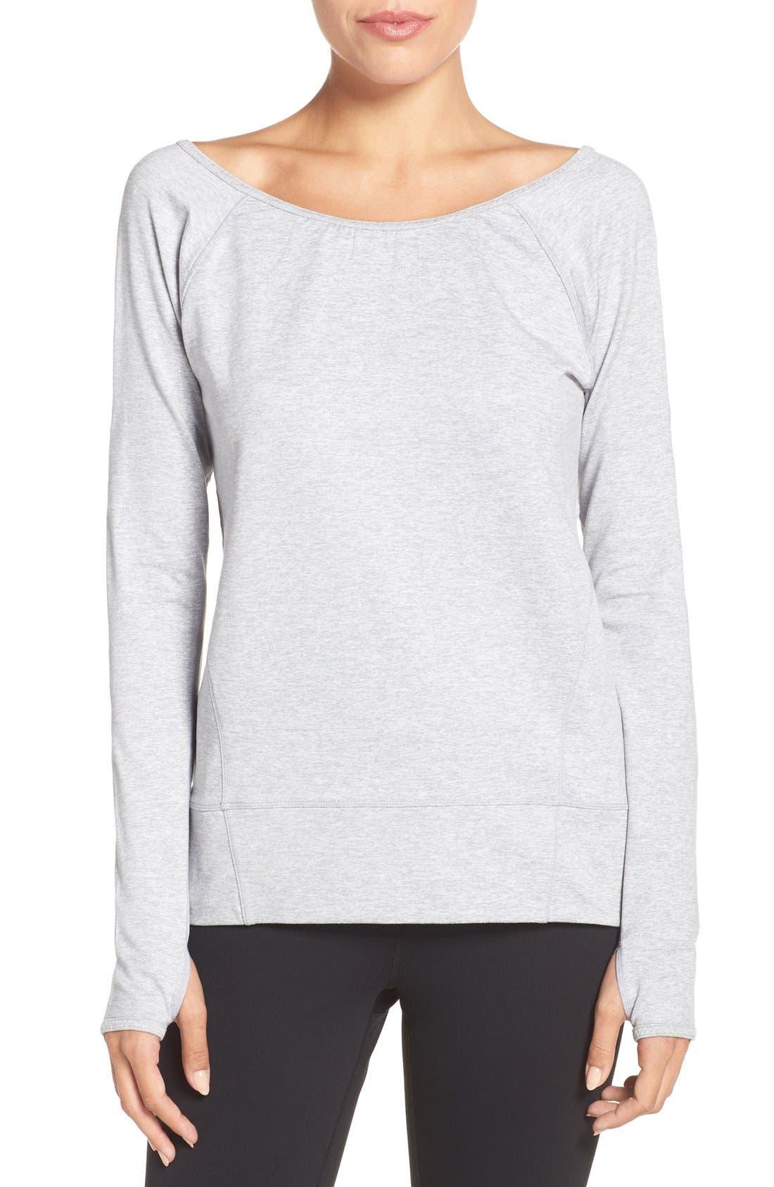 Alternate Image 1 Selected - Zella Etoile Pullover Sweatshirt