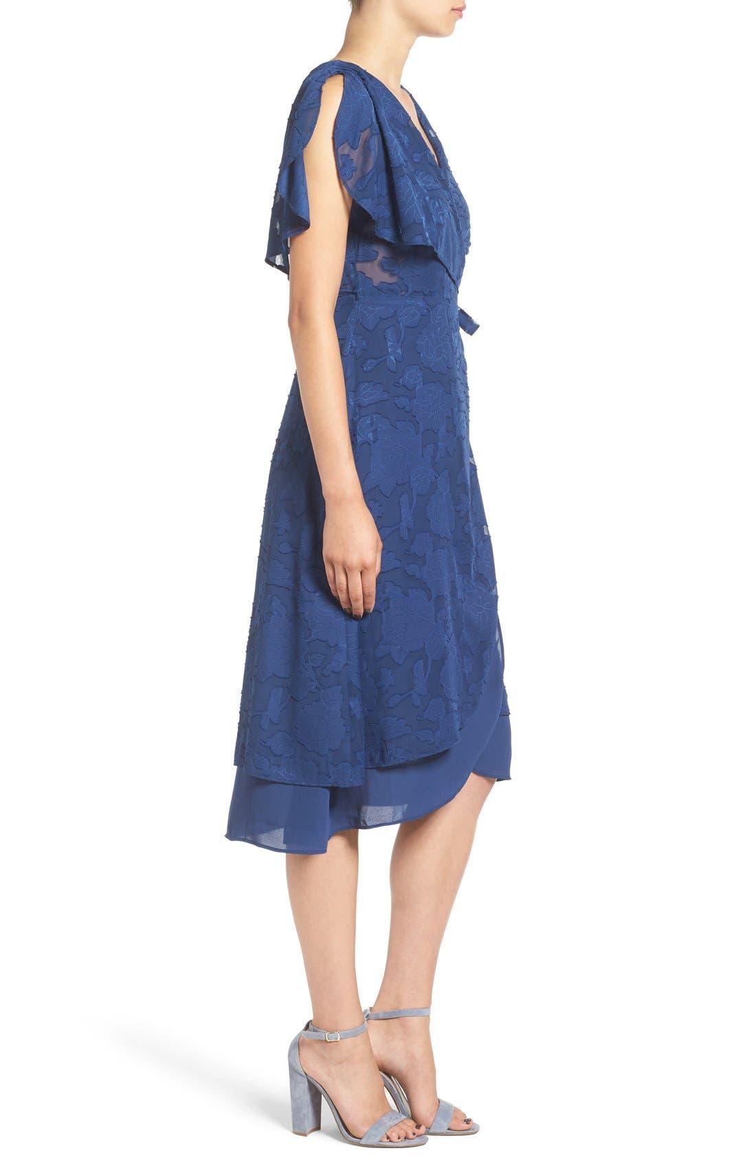 Alternate Image 3  - Ten Sixty Sherman Chiffon Wrap Dress