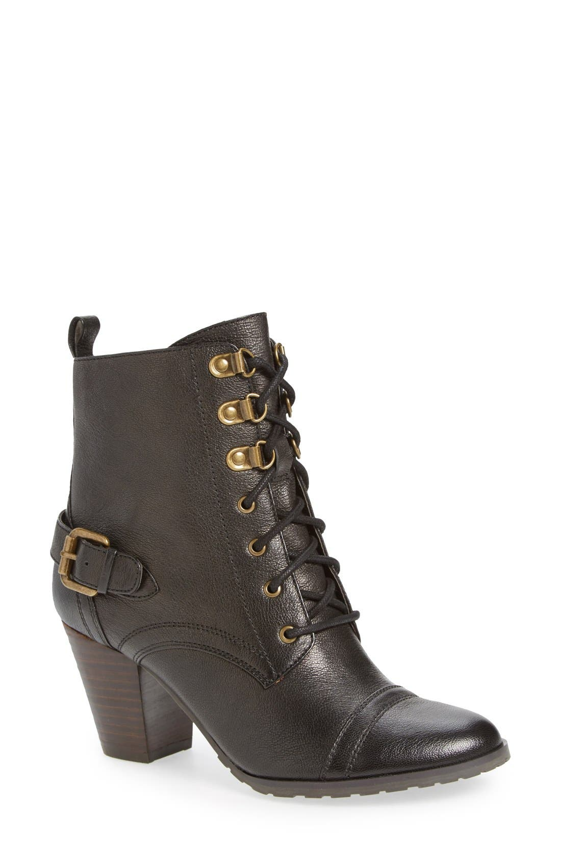 Alternate Image 1 Selected - Bella Vita 'Kennedy' Lace-Up Bootie (Women)