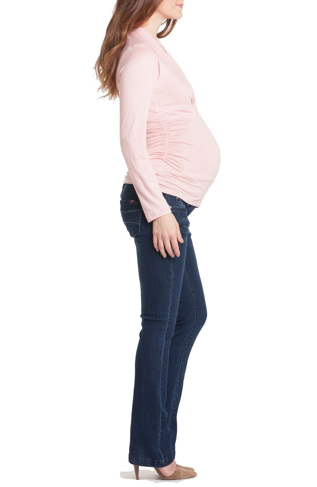 Alternate Image 3  - Lilac Clothing Megan Maternity Top