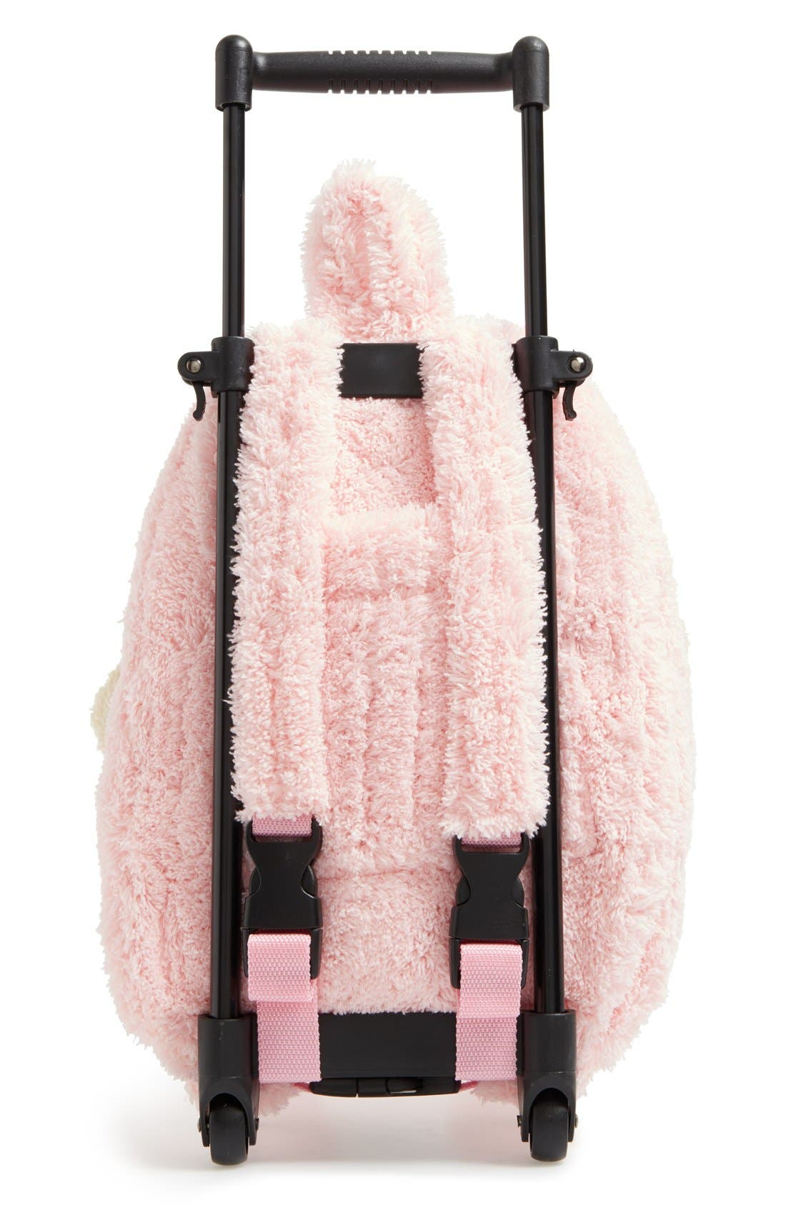 Alternate Image 4  - Popatu 'Trolley - Ballet Bear' Rolling Backpack (Kids)