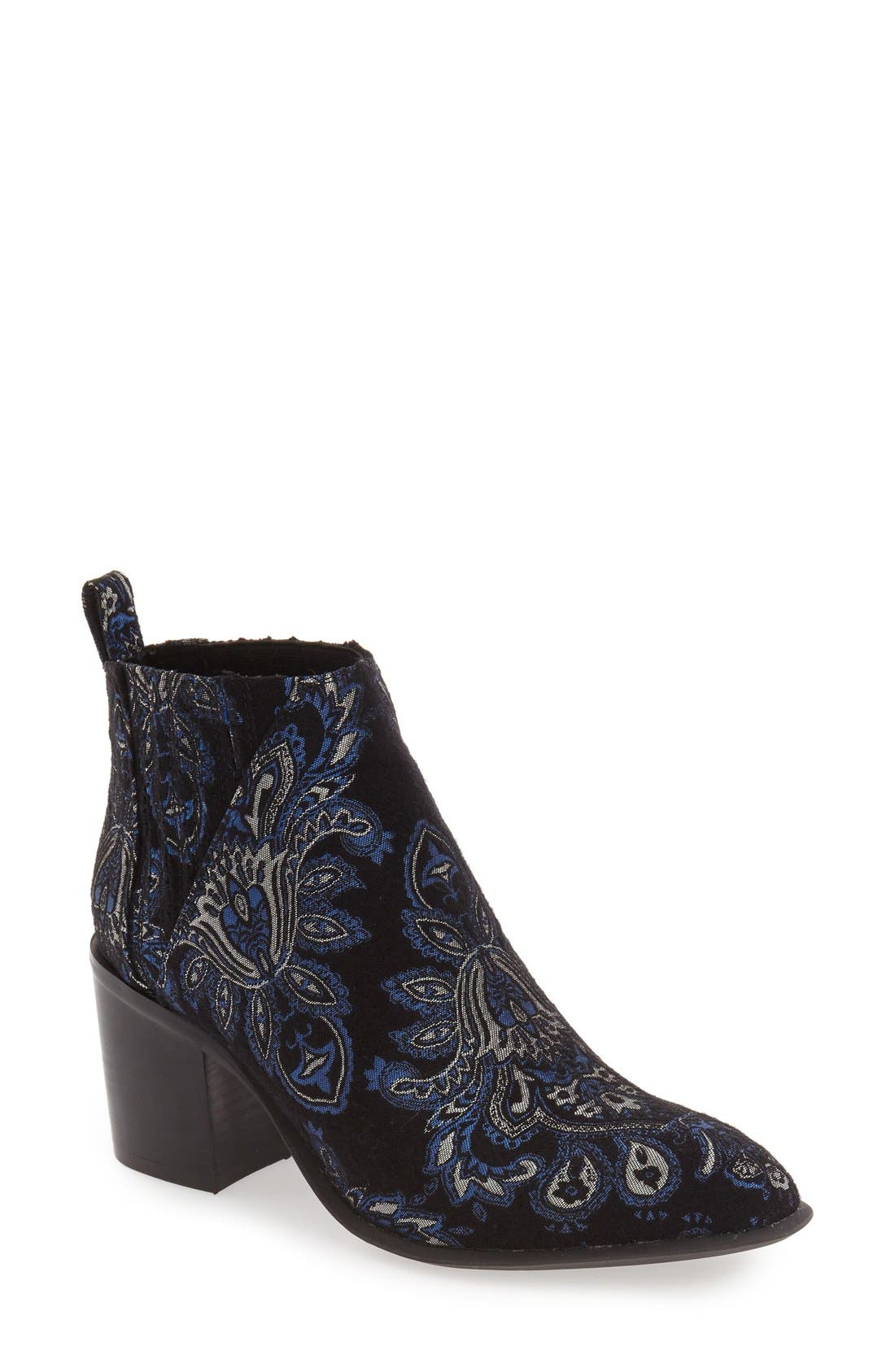 Alternate Image 1 Selected - Jeffrey Campbell 'Viggio' Brocade Bootie (Women)