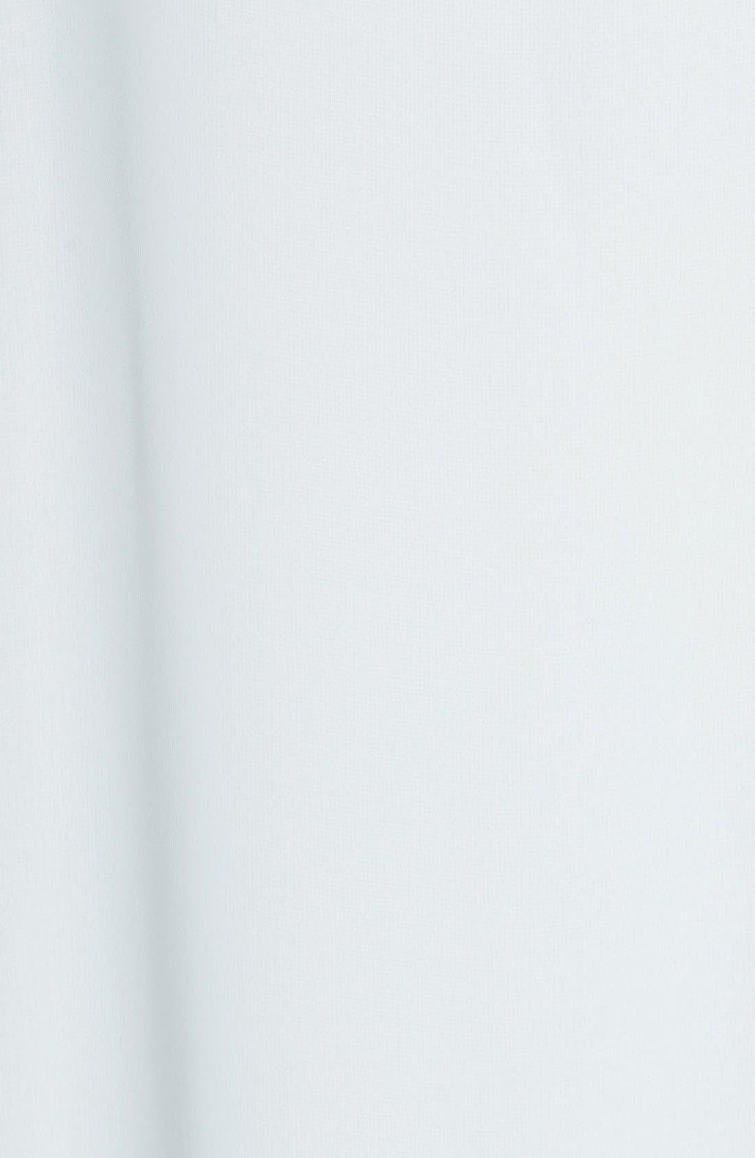 'Willa' V-Neck Trapeze Gown,                             Alternate thumbnail 5, color,                             Cloud