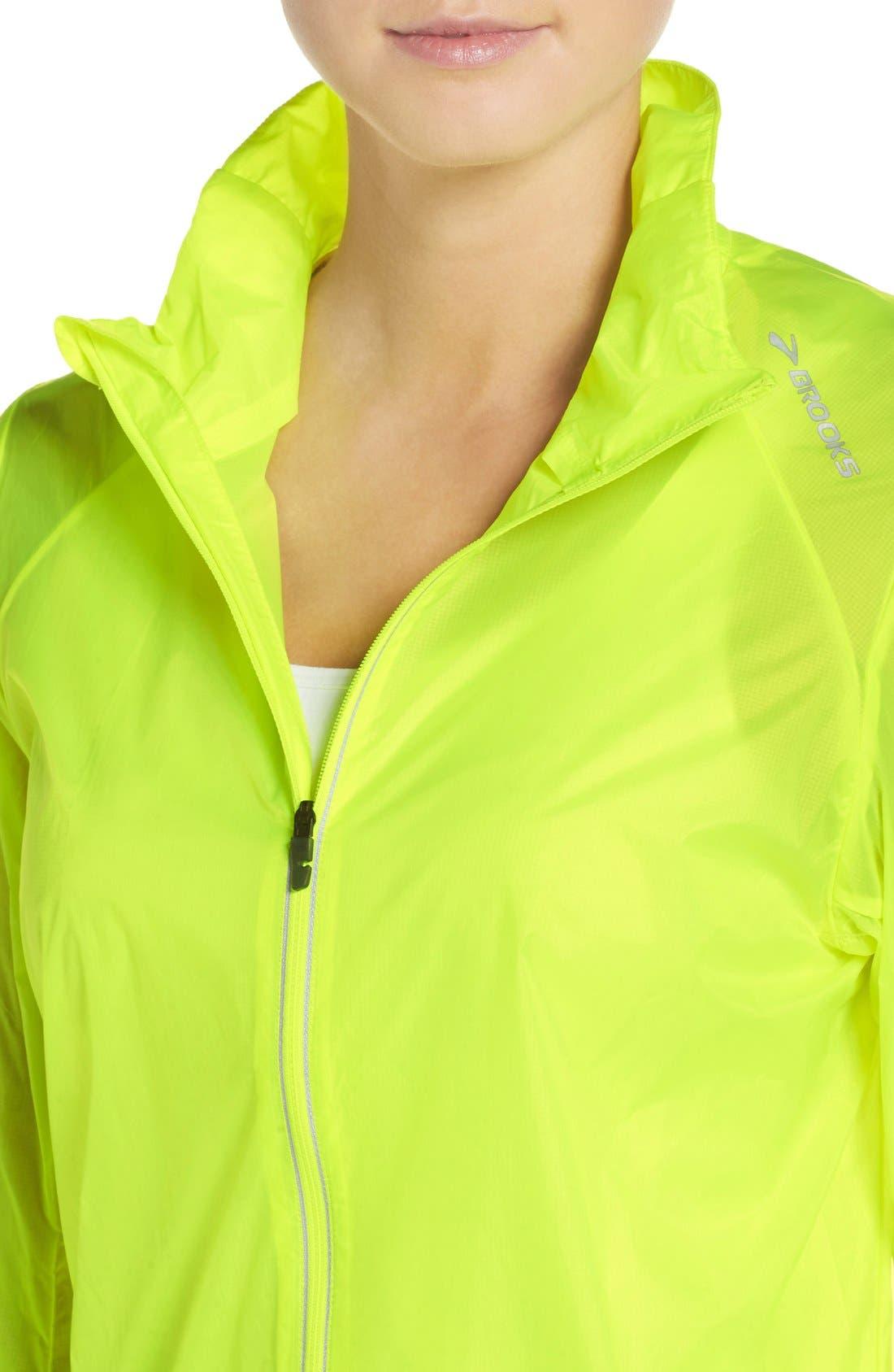 Water Resistant Ripstop Jacket,                             Alternate thumbnail 4, color,                             Nightlife/ Ultra Blue