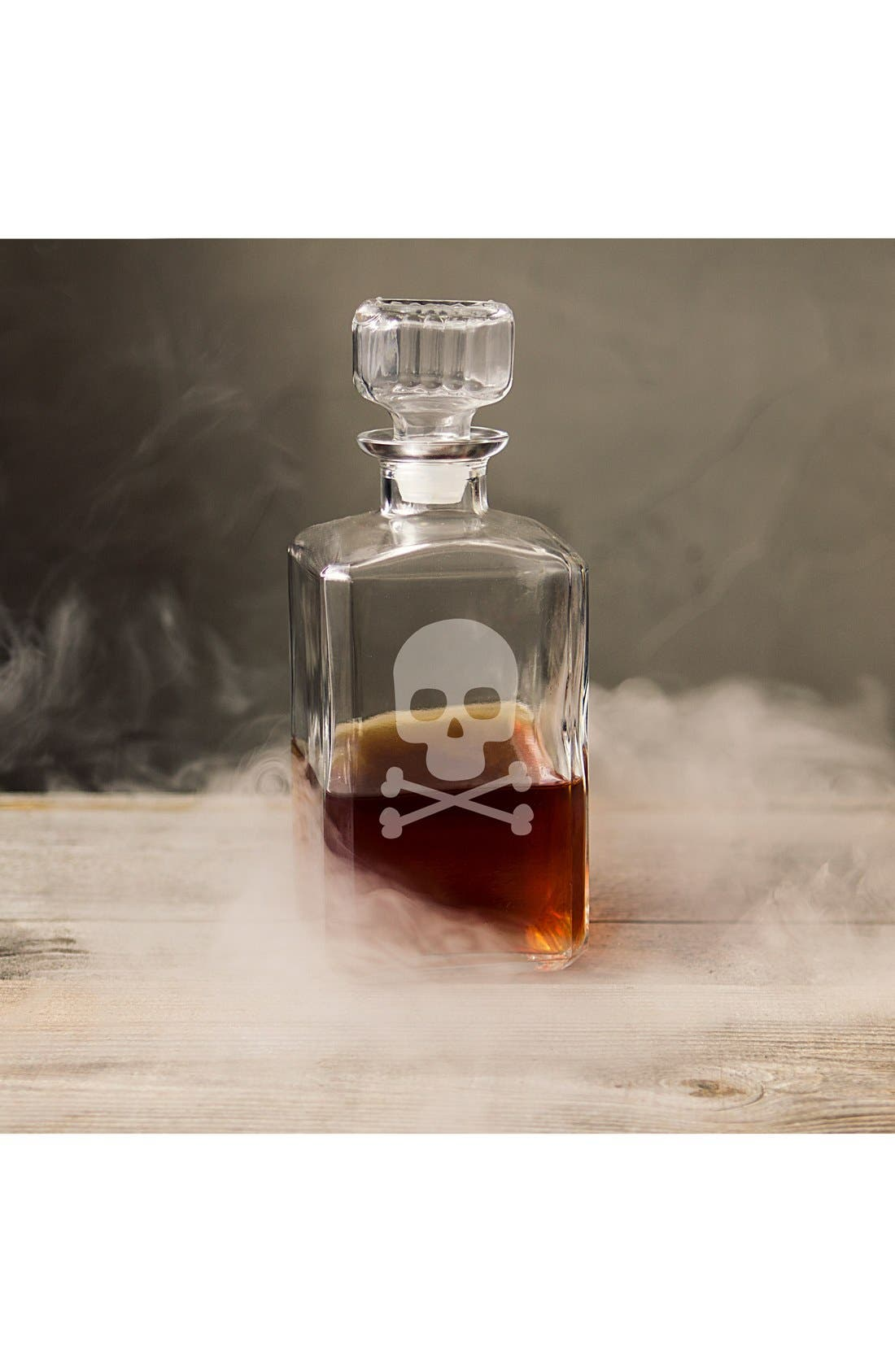 Cathy's Concepts 'Skull & Crossbones' Glass Decanter