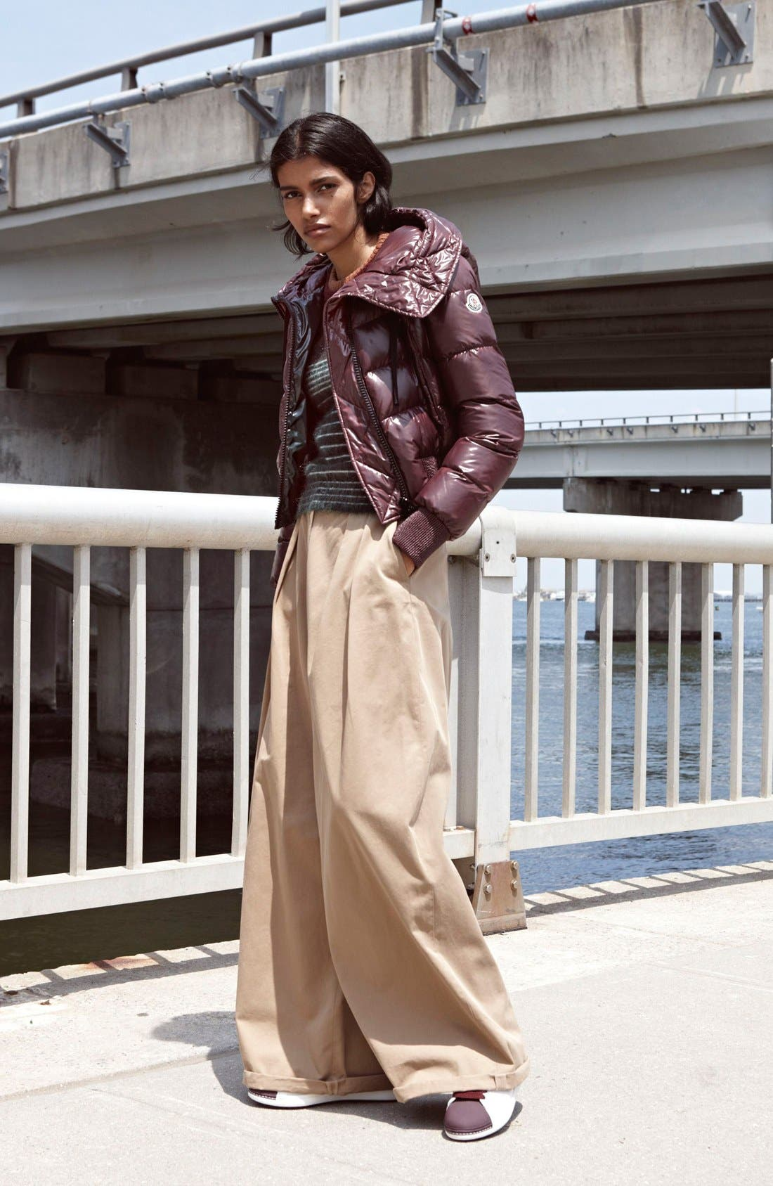 Alternate Image 6  - Moncler 'Angeline Scarpa' Sneaker (Women)