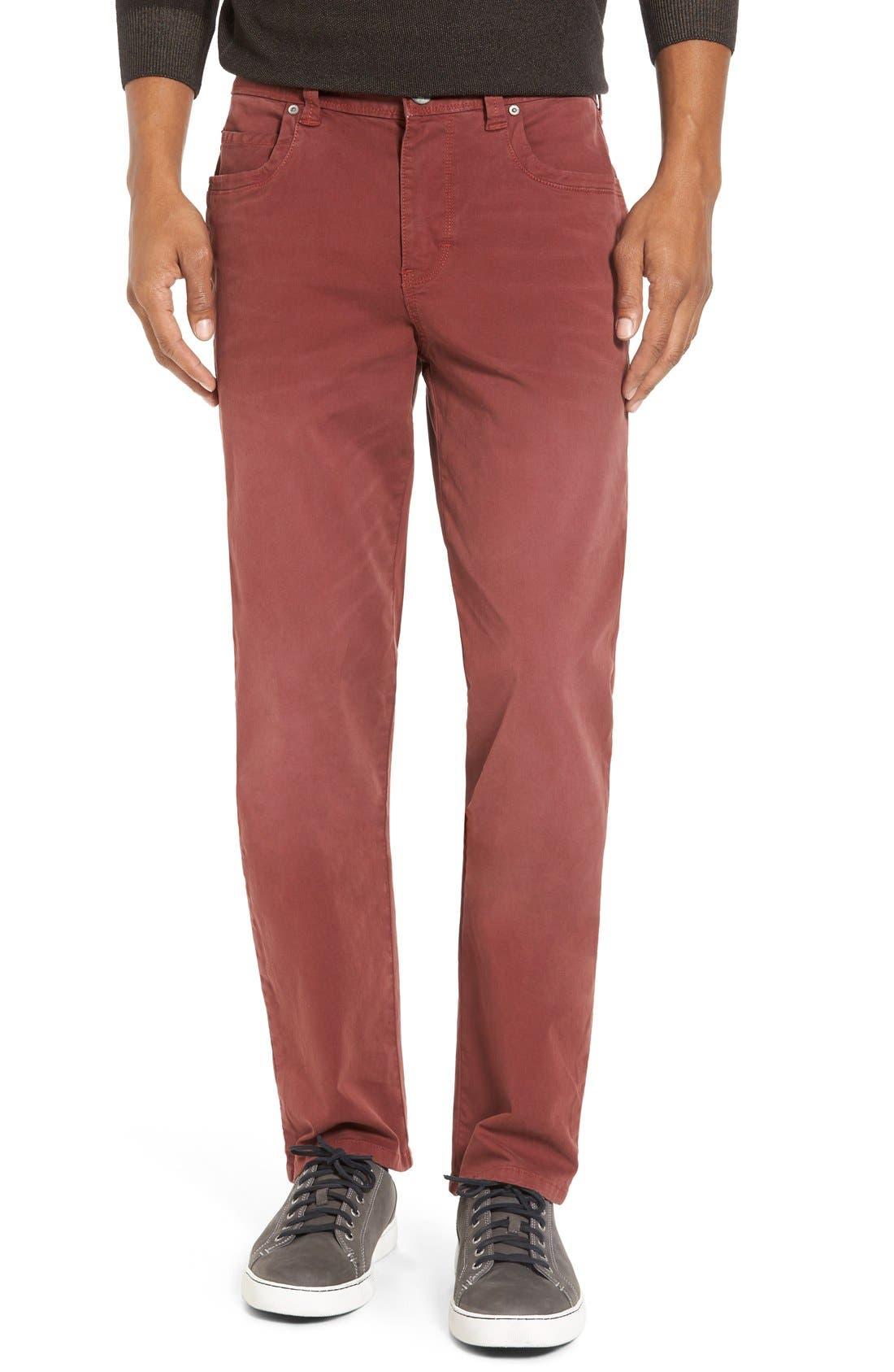 Alternate Image 1 Selected - Tommy Bahama 'Santiago' Washed Twill Pants