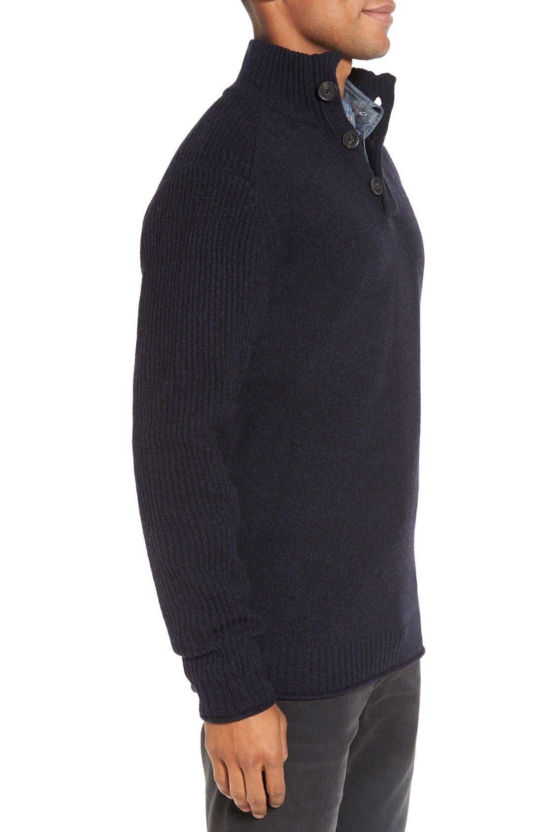 Alternate Image 3  - Rodd & Gunn Birkenhead Mock Neck Sweater
