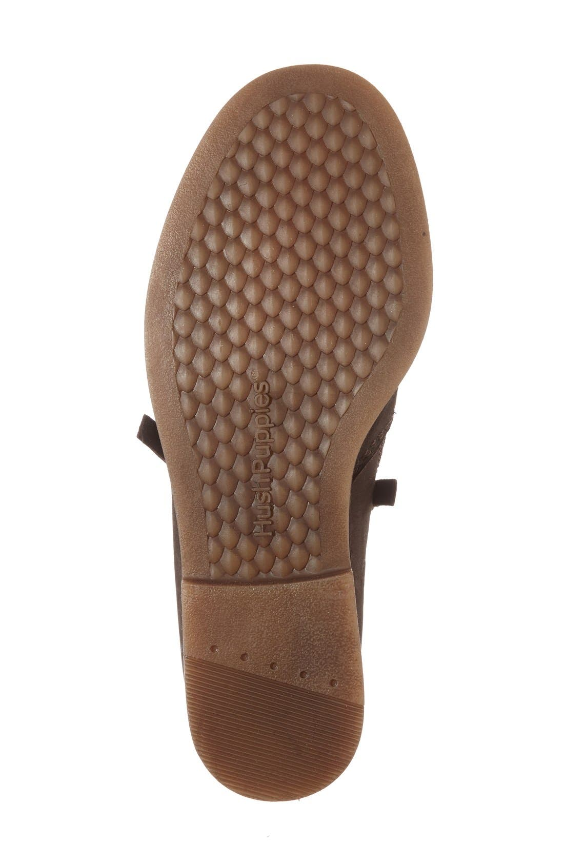 'Mazin Cayto' Bootie,                             Alternate thumbnail 4, color,                             Brown Nubuck Leather