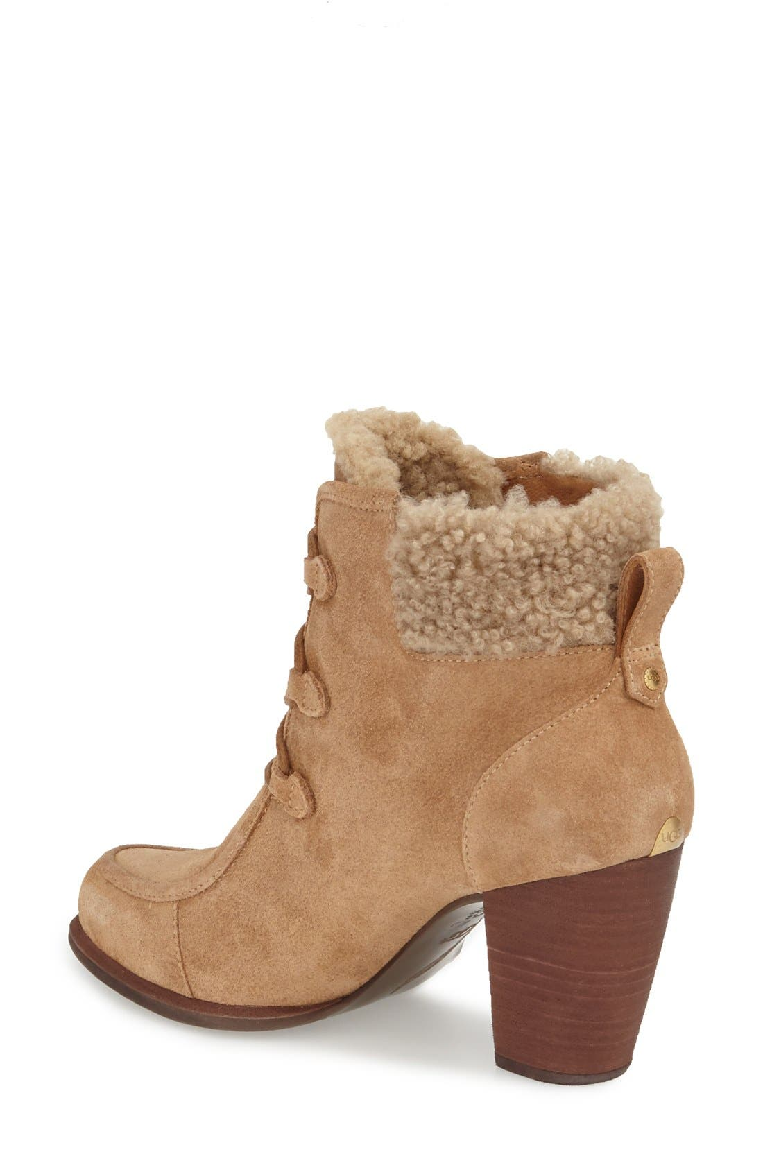Alternate Image 2  - UGG® Australia 'Analise' Hiker Bootie (Women)