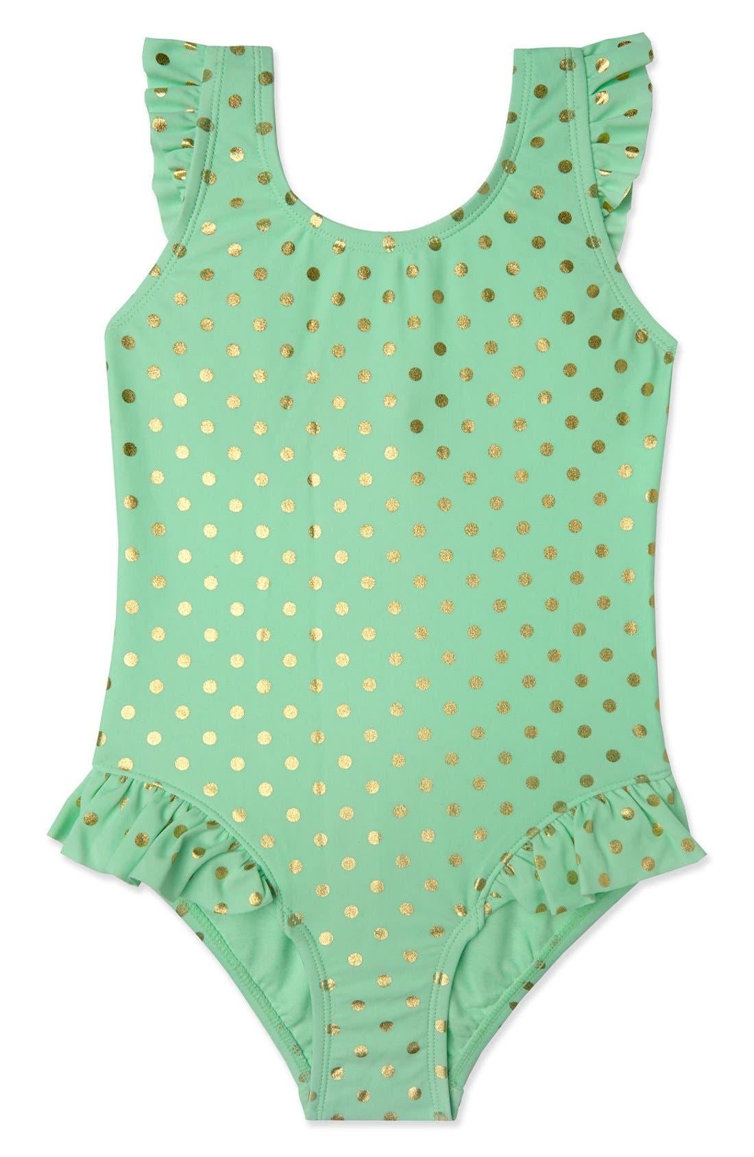 Alternate Image 1 Selected - Hula Star 'Milkshake' One-Piece Swimsuit (Toddler Girls & Little Girls)