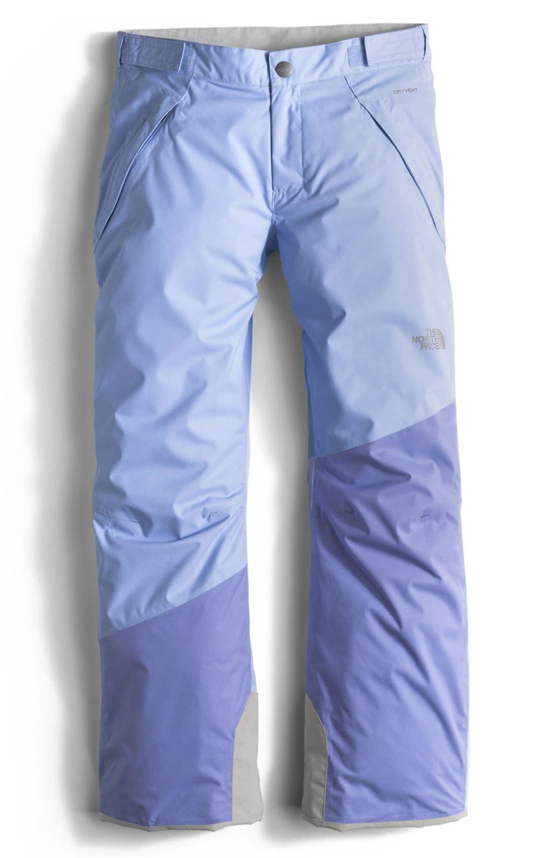 Alternate Image 1 Selected - The North Face 'Freedom' Insulated Pants (Little Girls & Big Girls)