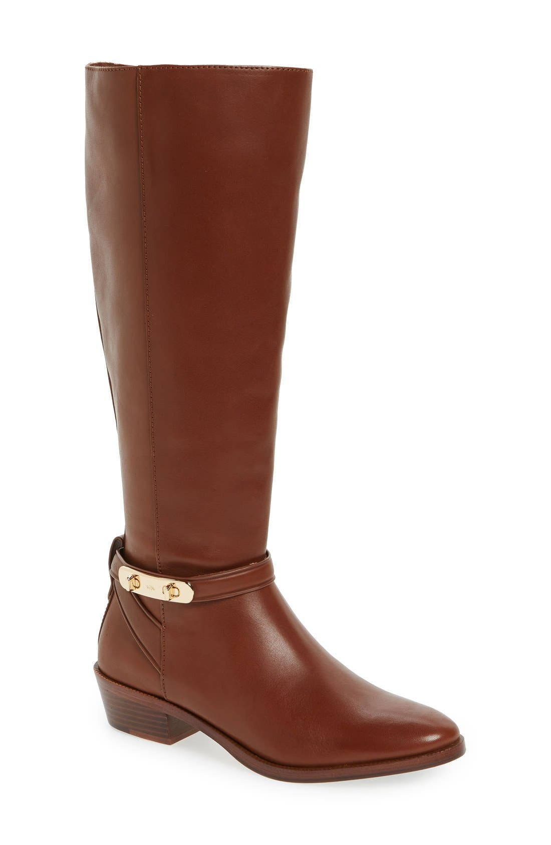 Alternate Image 1 Selected - COACH 'Caroline' Tall Boot (Women)