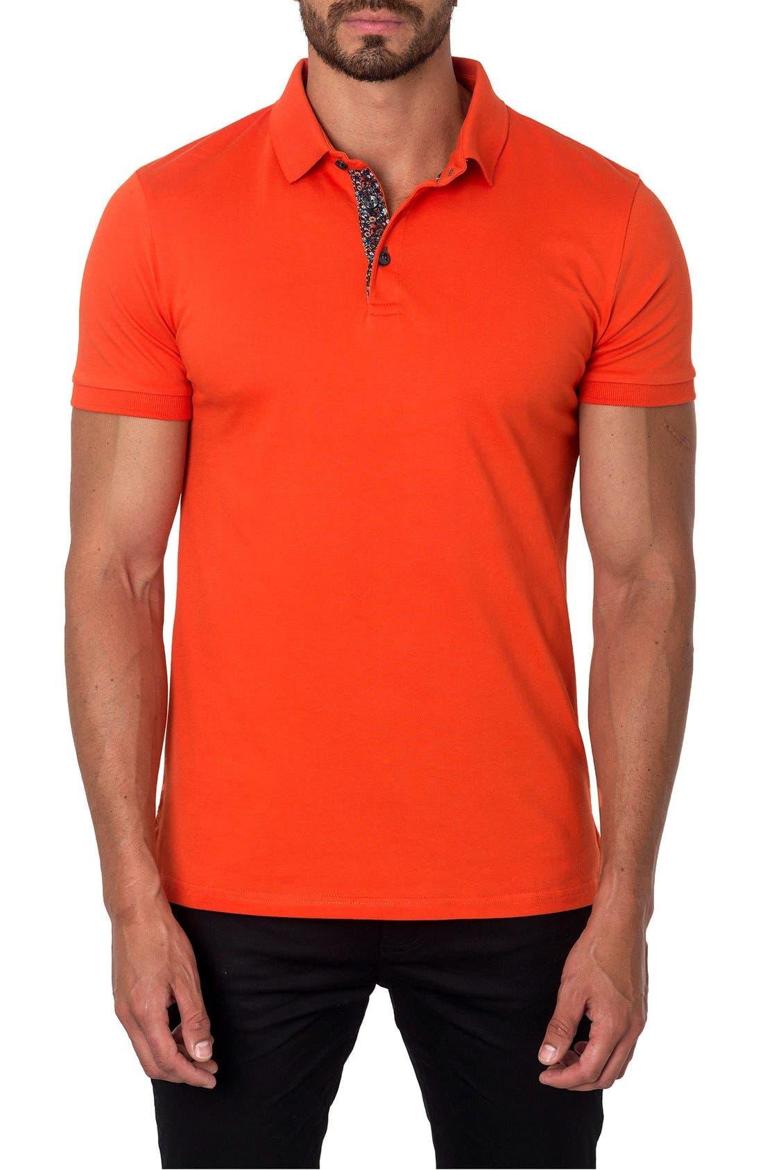 Polo,                         Main,                         color, Orange