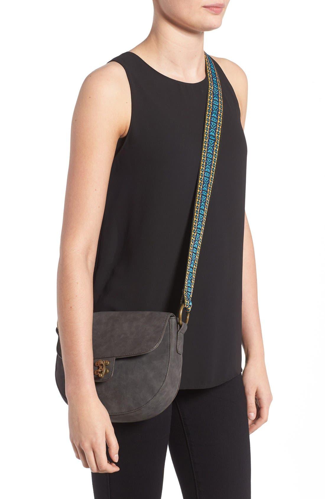 Alternate Image 2  - Elle & Jae Gypset 'Marrakesh' Faux Suede Crossbody Bag