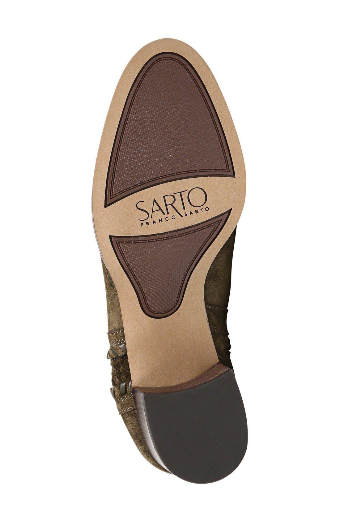 Alternate Image 4  - SARTO by Franco Sarto 'Chenille' Bootie (Women)