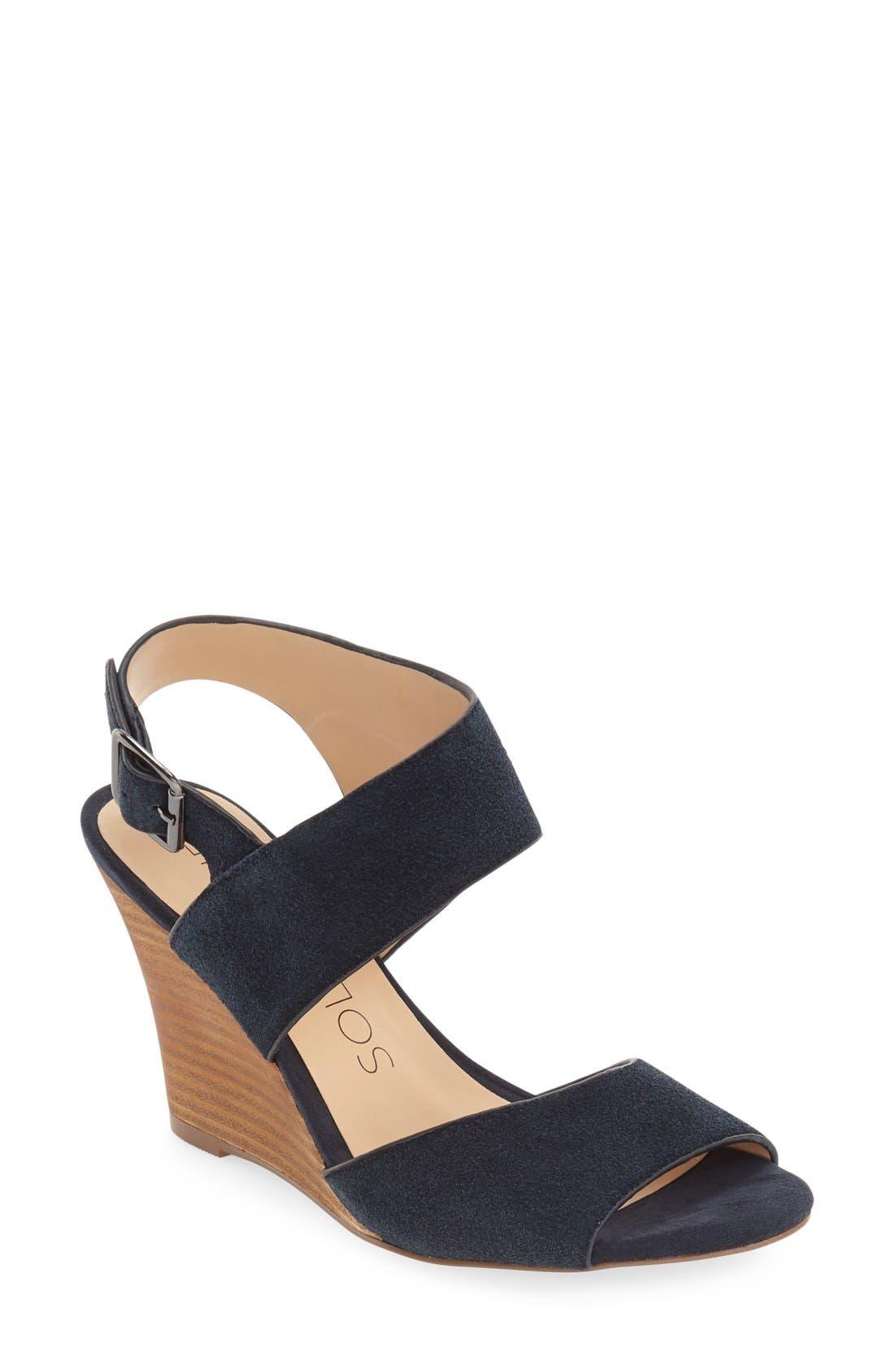 Main Image - Sole Society 'Landry' Wedge Sandal (Women)