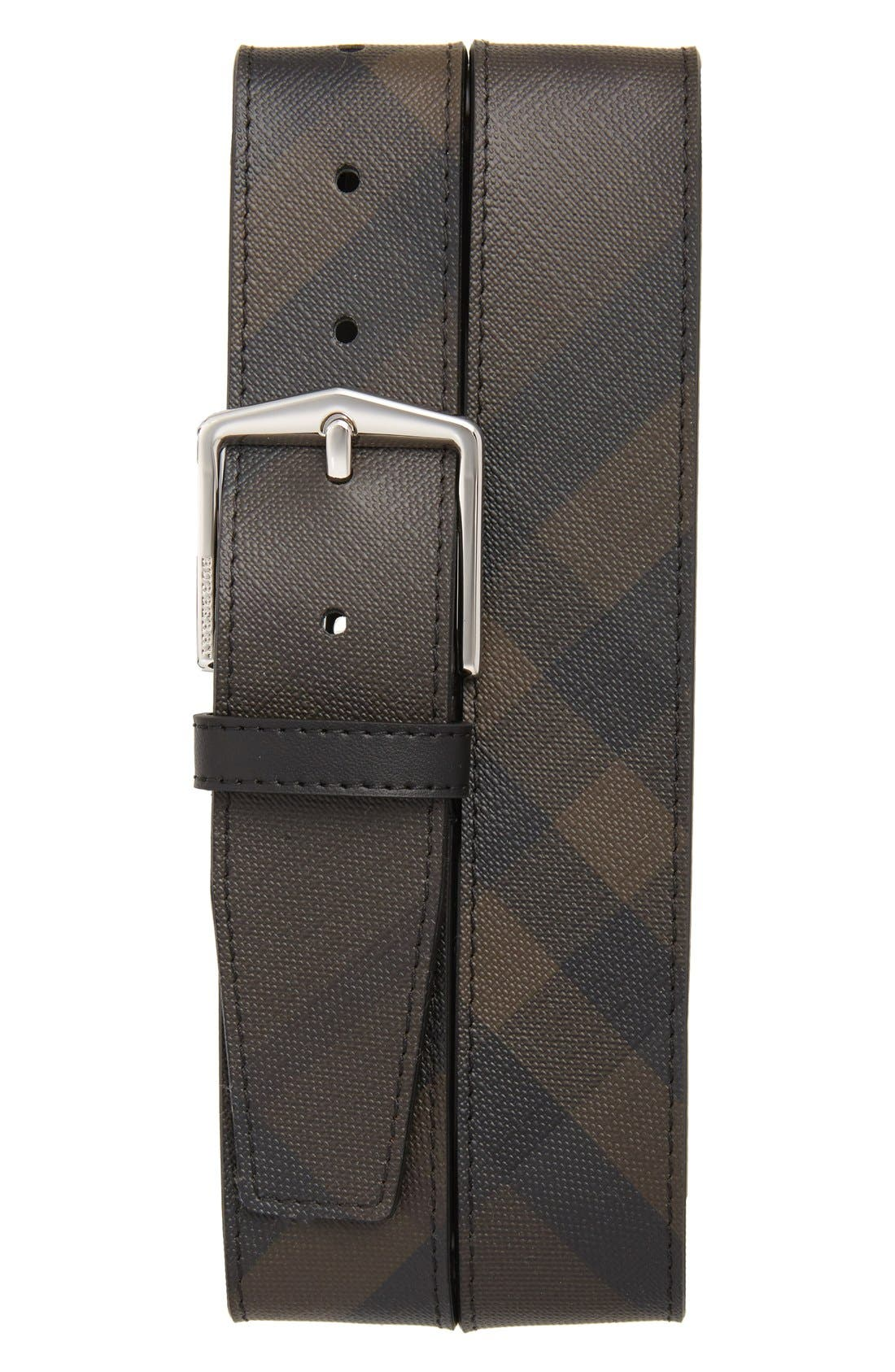 Burberry 'Joe' Check Pattern Belt