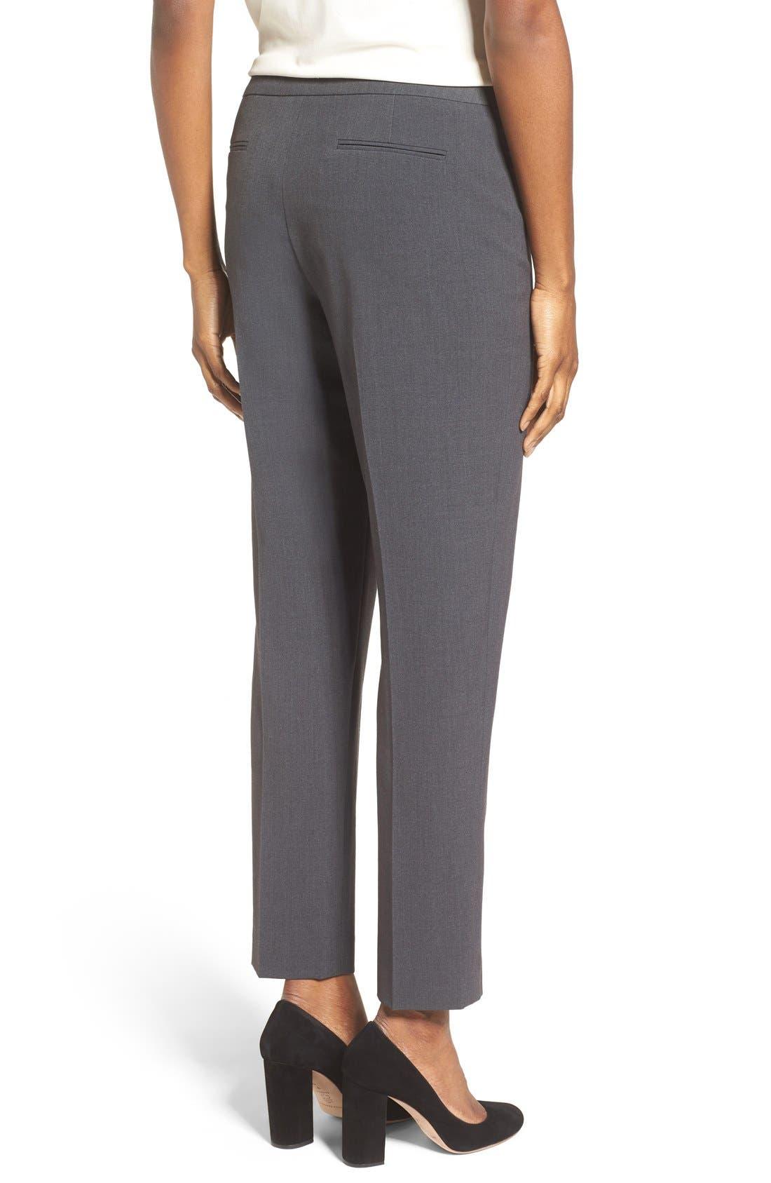 Alternate Image 3  - Anne Klein Slim Suit Pants