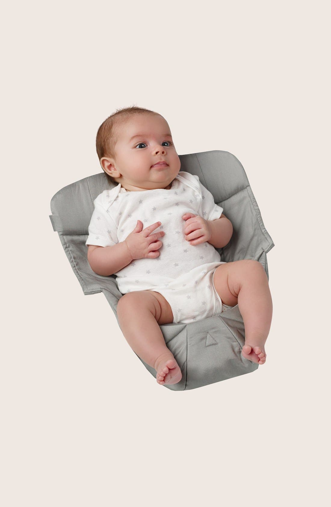 'Easy Snug' Cotton Poplin Baby Insert,                         Main,                         color, Grey