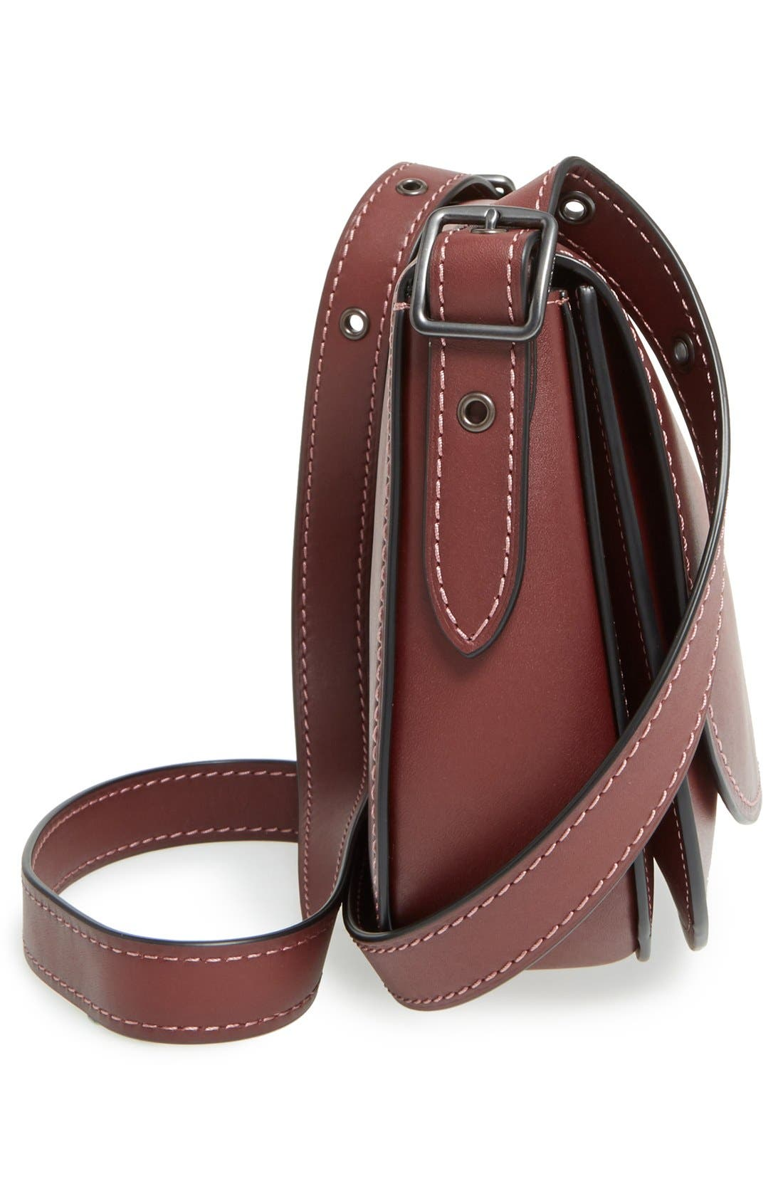 Alternate Image 5  - COACH 1941 '23' Leather Saddle Bag