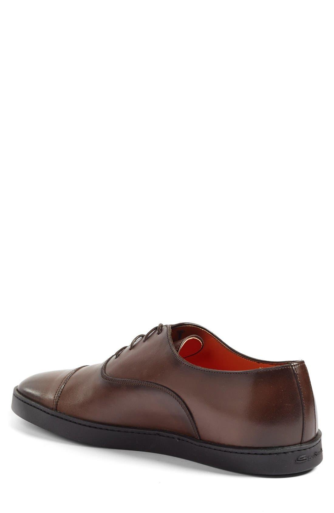 Alternate Image 2  - Santoni 'Durbin' Oxford Sneaker (Men)